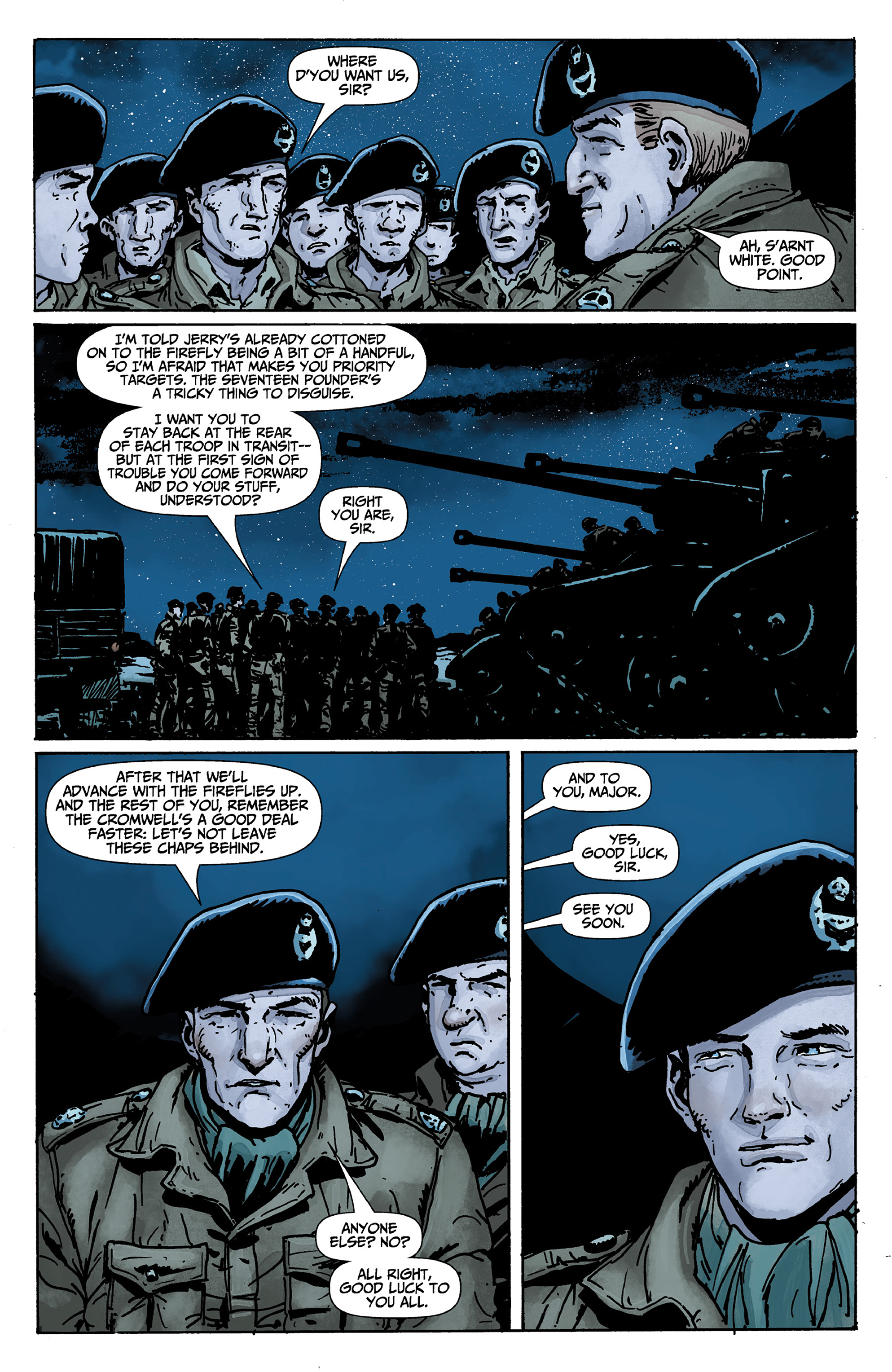 Read online World of Tanks comic -  Issue #1 - 15