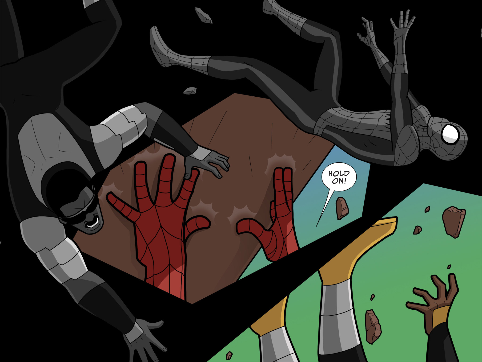 Read online Ultimate Spider-Man (Infinite Comics) (2015) comic -  Issue #10 - 13