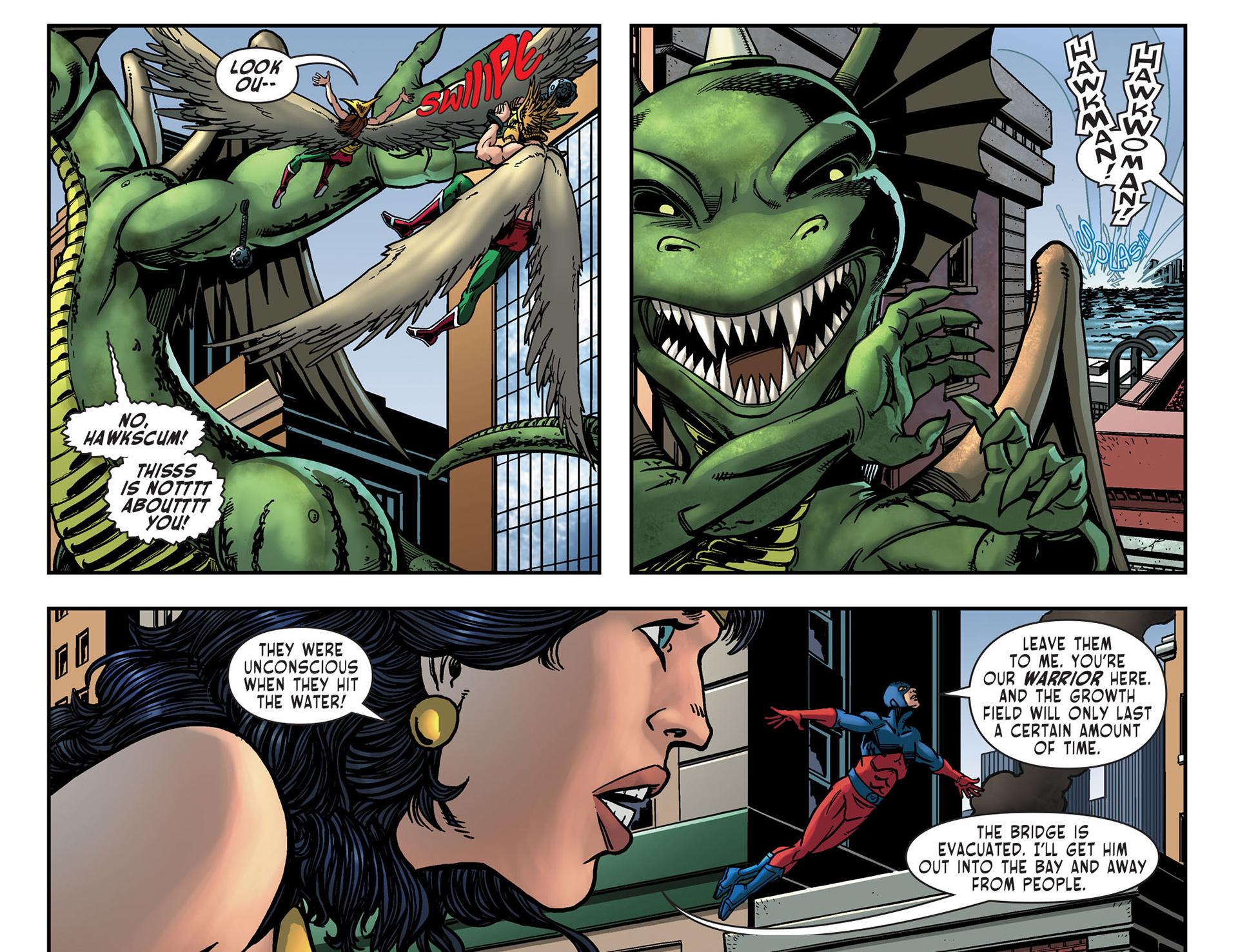 Read online Sensation Comics Featuring Wonder Woman comic -  Issue #10 - 10