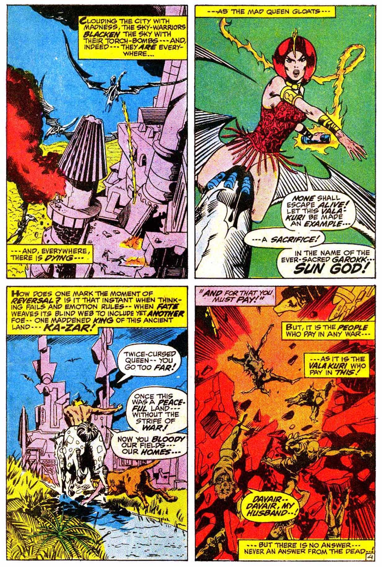 Read online Astonishing Tales (1970) comic -  Issue #4 - 15