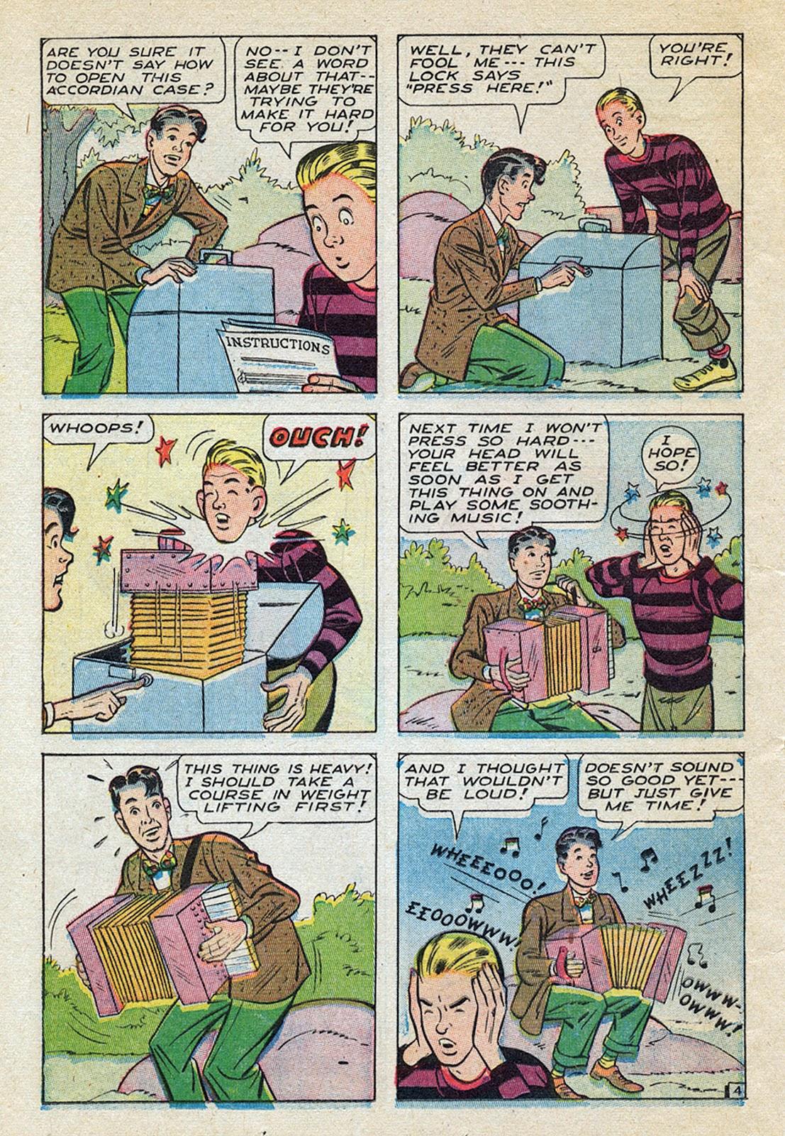 Georgie Comics (1945) issue 4 - Page 38