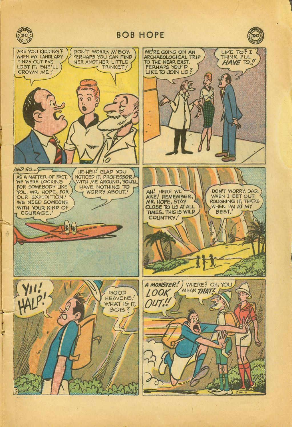 The Adventures of Bob Hope issue 64 - Page 17