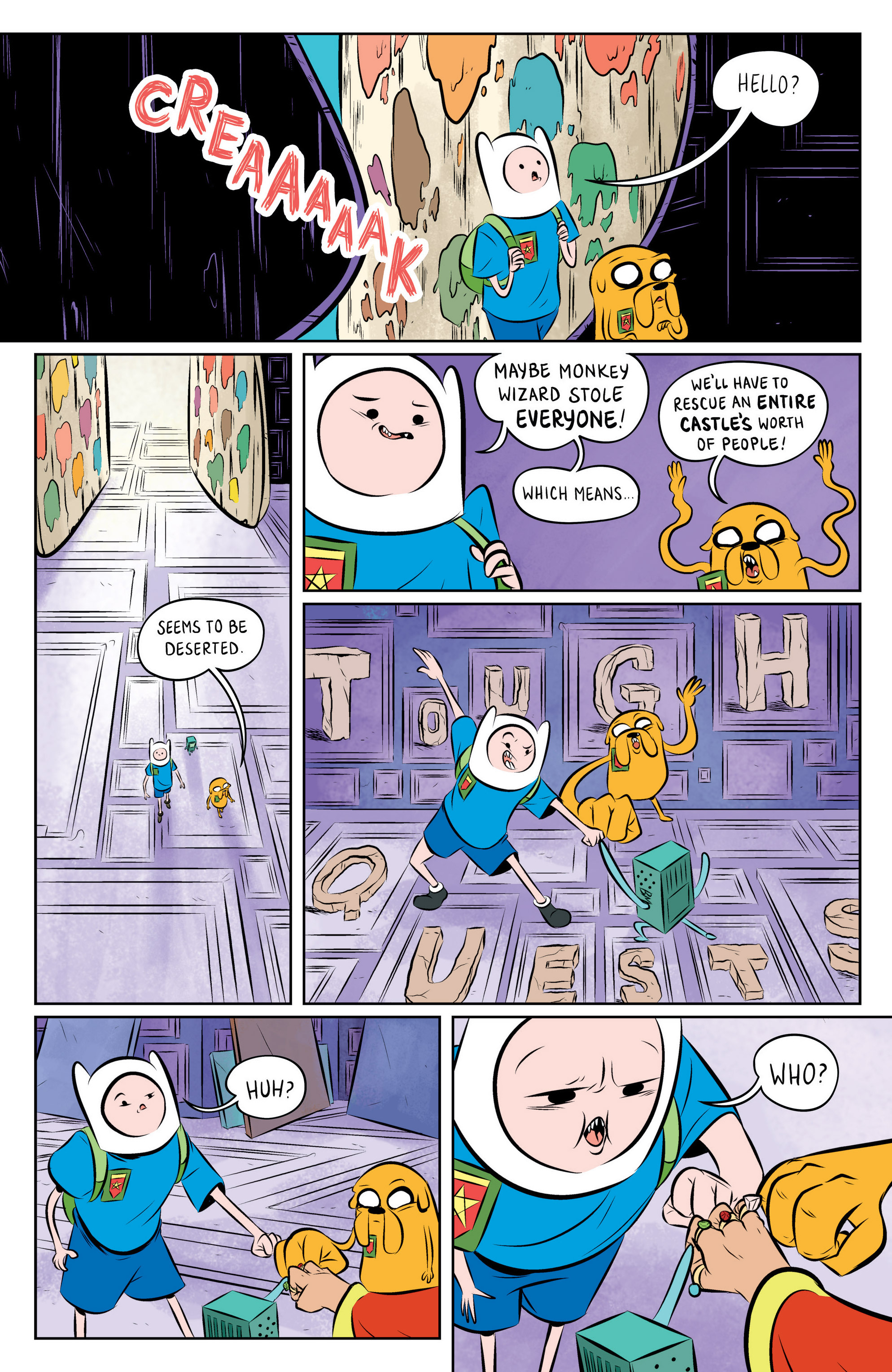 Read online Adventure Time: The Flip Side comic -  Issue #1 - 25