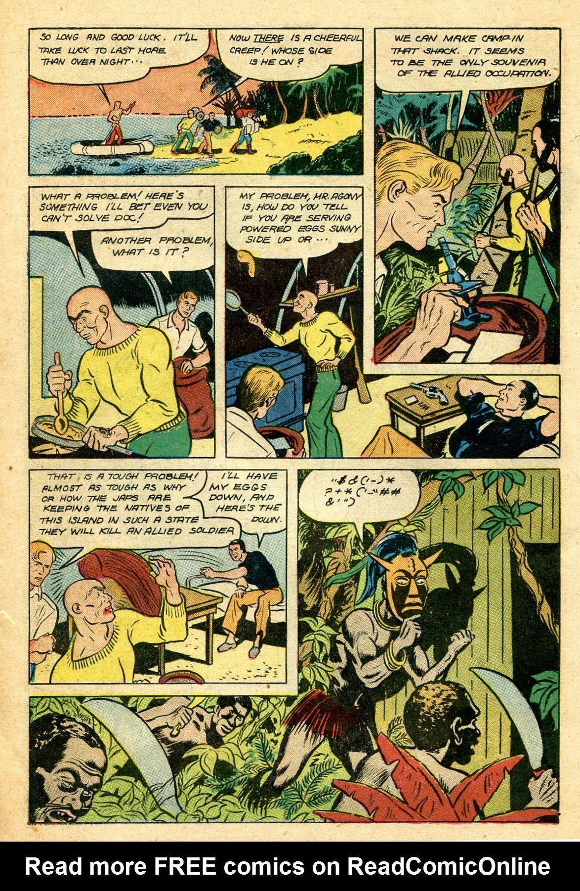 Read online Shadow Comics comic -  Issue #44 - 25