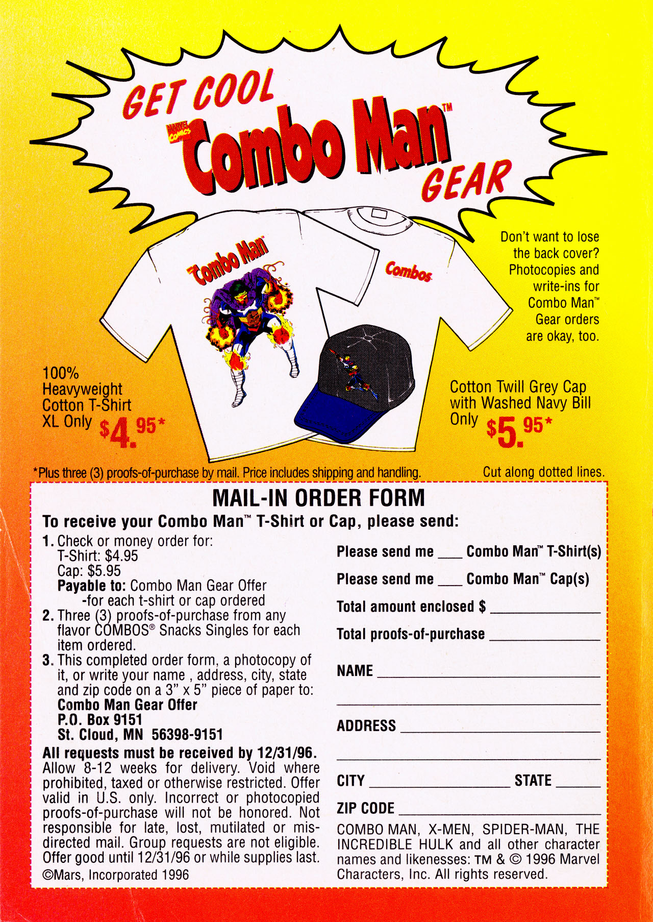 Read online Combo Man comic -  Issue # Full - 11