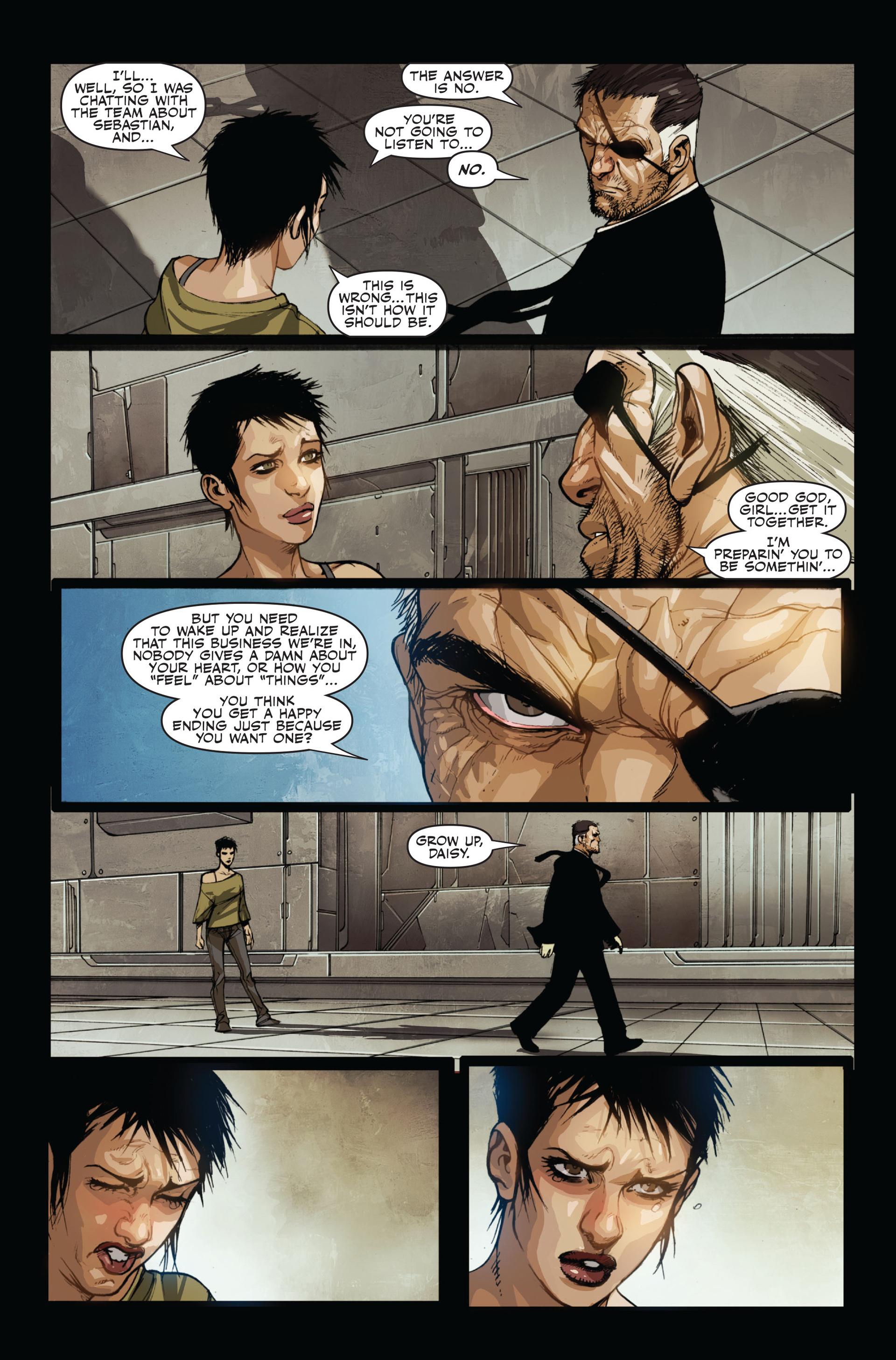 Read online Secret Warriors comic -  Issue #15 - 22