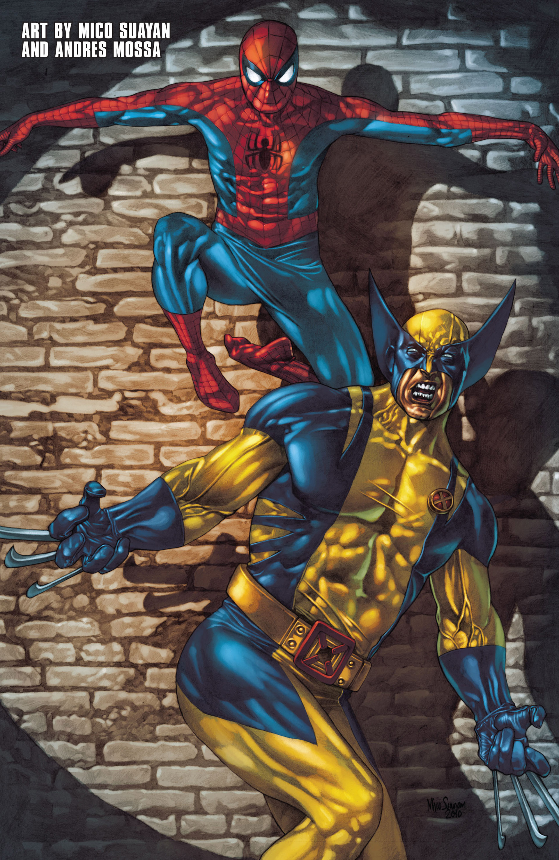 Read online Astonishing Spider-Man & Wolverine comic -  Issue #1 - 23