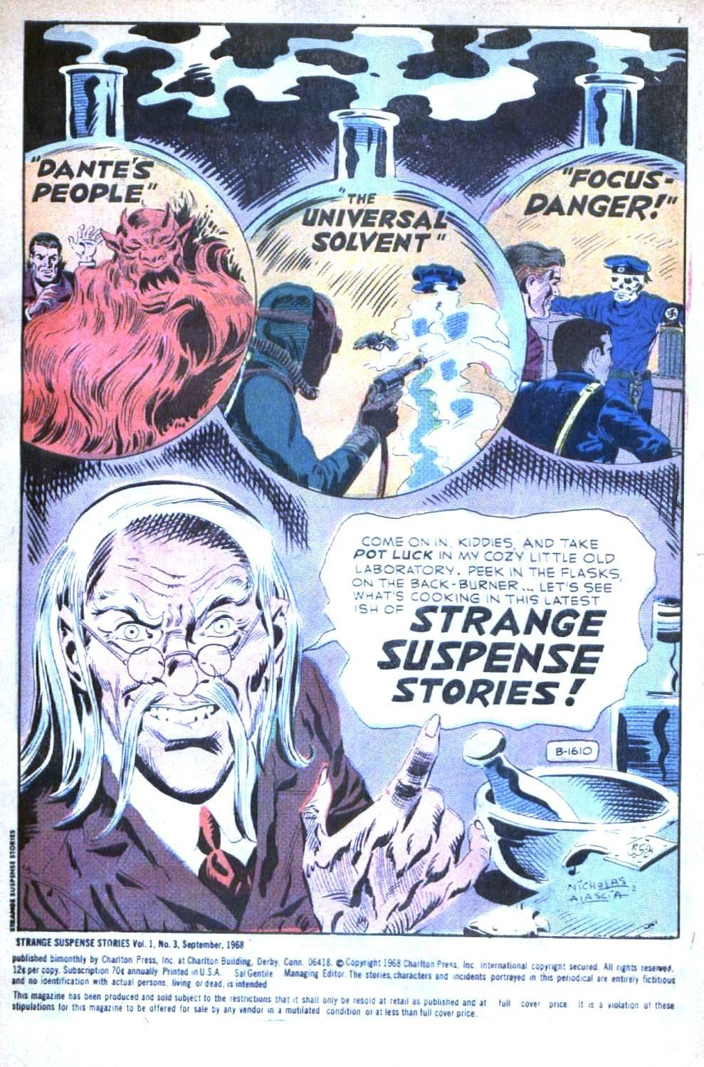 Strange Suspense Stories (1967) issue 3 - Page 3