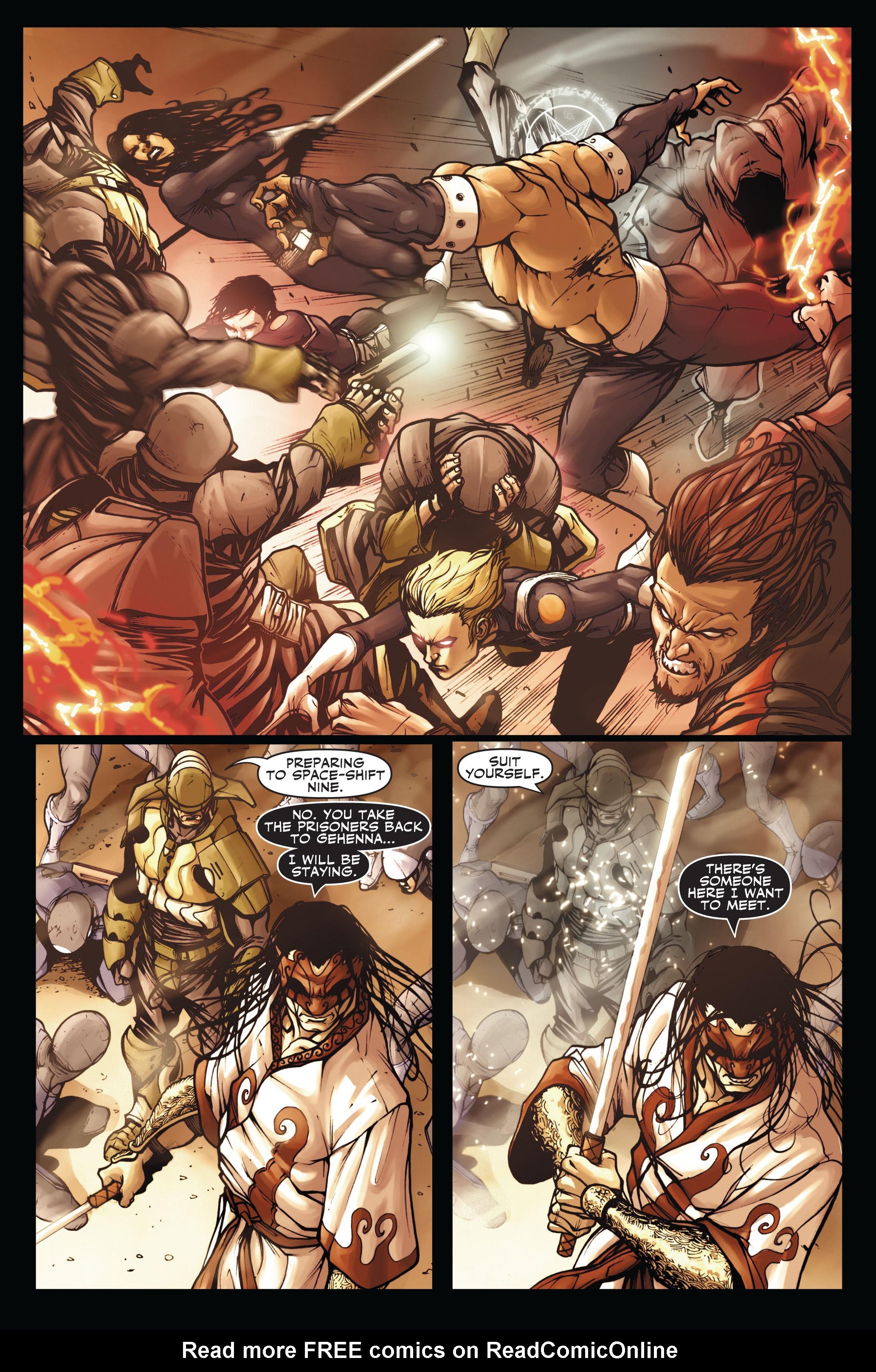 Read online Secret Warriors comic -  Issue #3 - 16