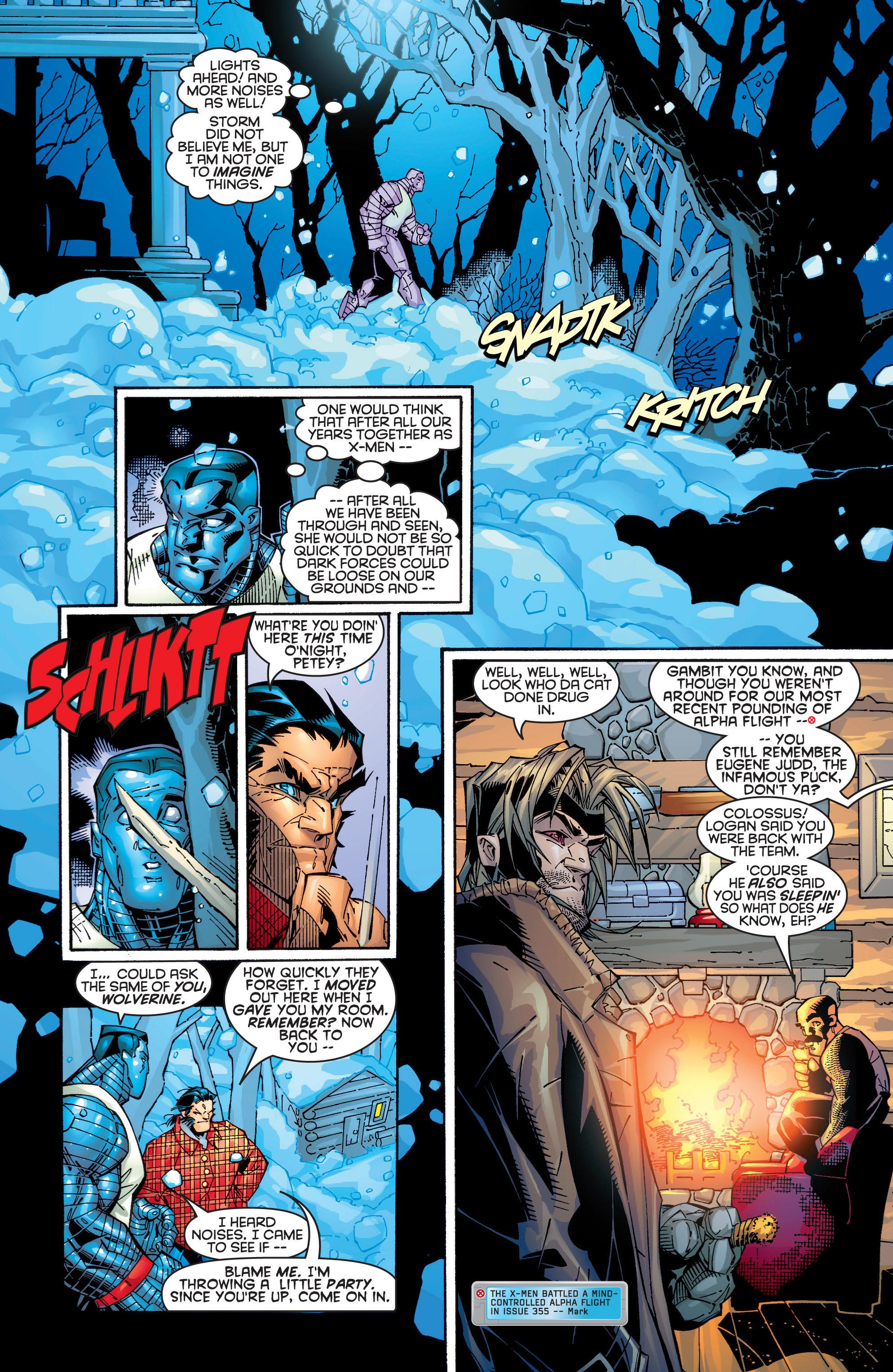 Read online Uncanny X-Men (1963) comic -  Issue #365 - 6