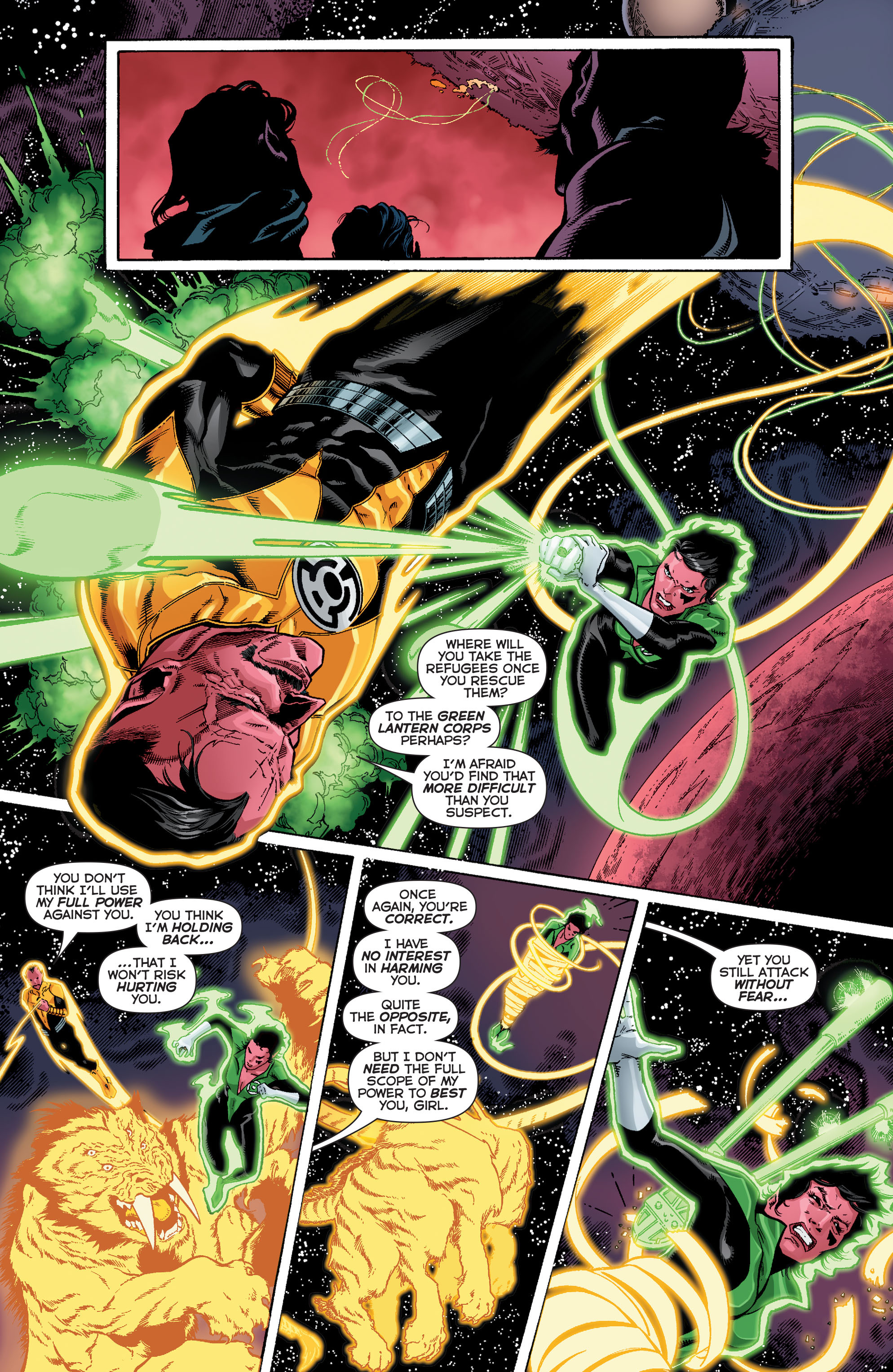 Read online Sinestro comic -  Issue #12 - 20