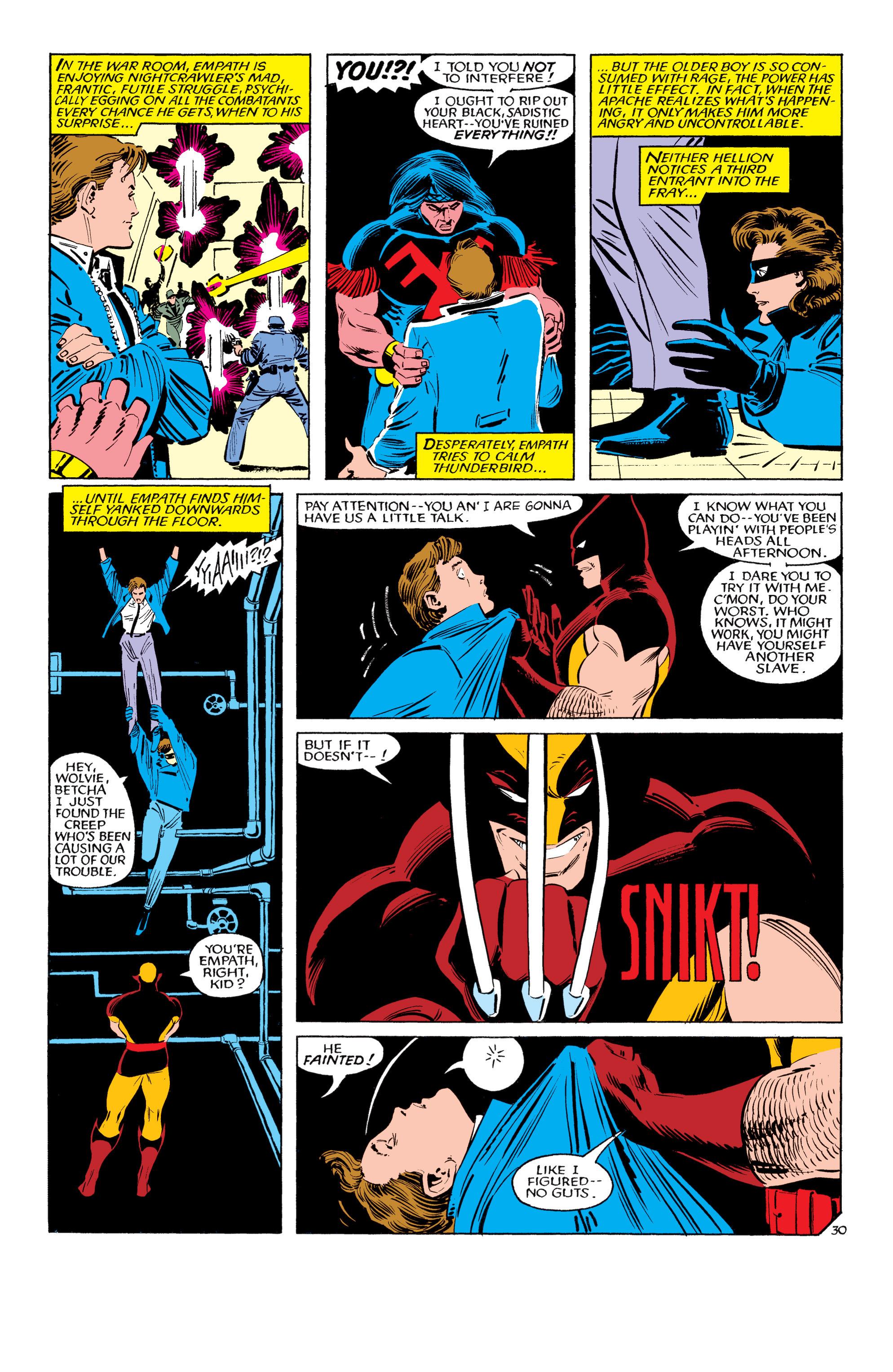 Read online Uncanny X-Men (1963) comic -  Issue #193 - 31