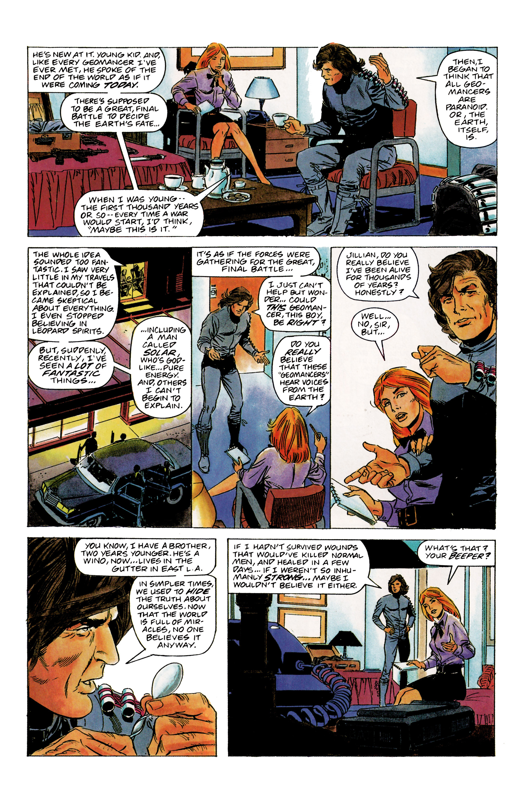 Read online Eternal Warrior (1992) comic -  Issue #1 - 25