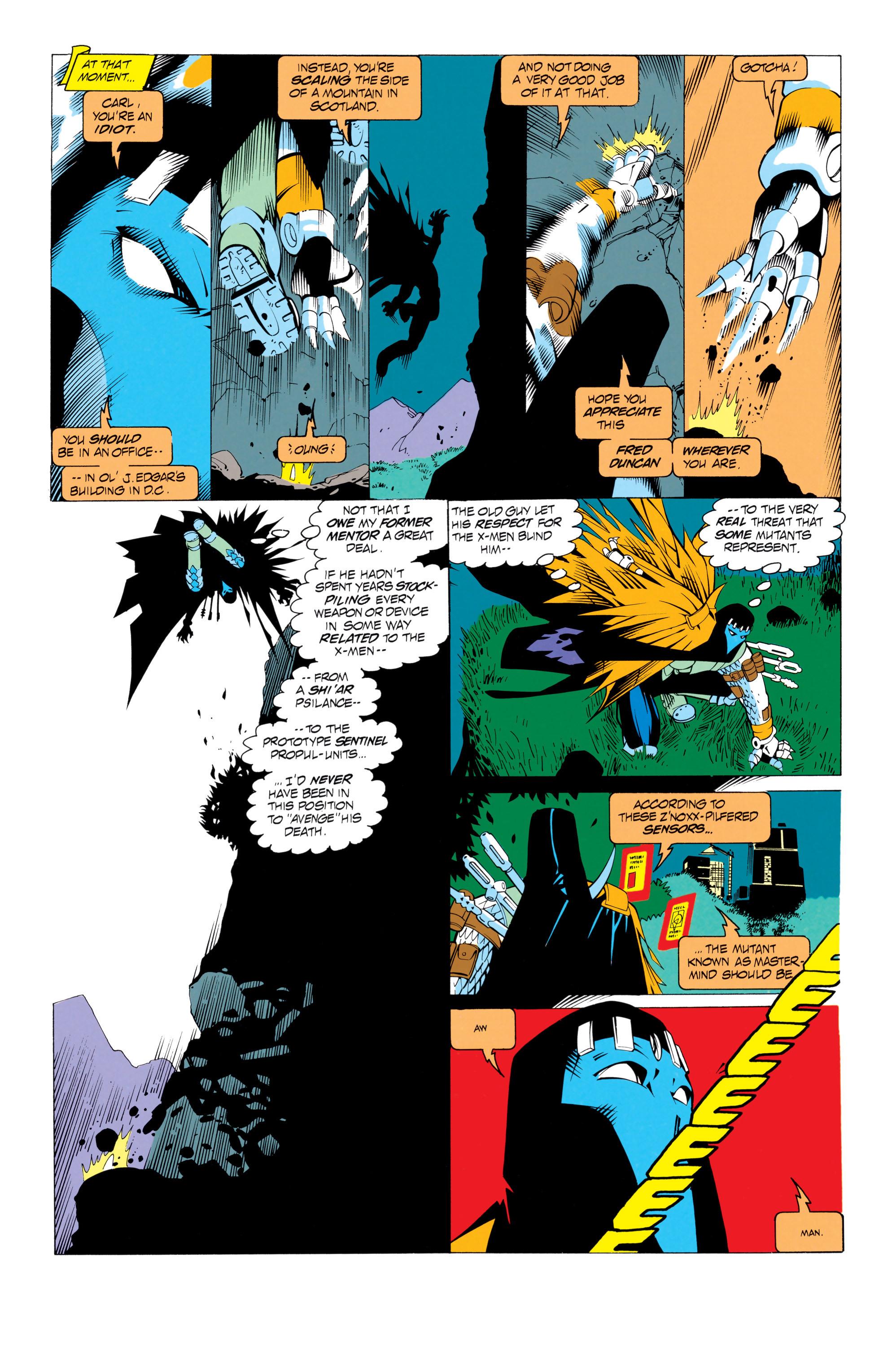Read online Uncanny X-Men (1963) comic -  Issue # _Annual 17 - 28