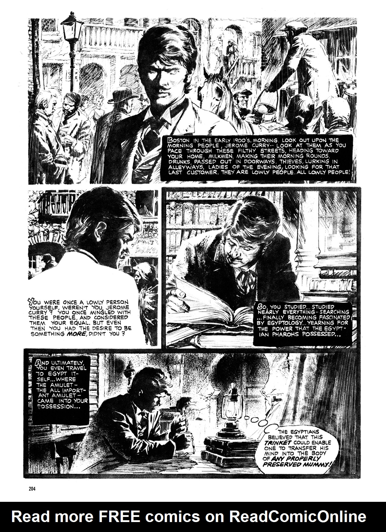 Read online Eerie Archives comic -  Issue # TPB 10 - 205