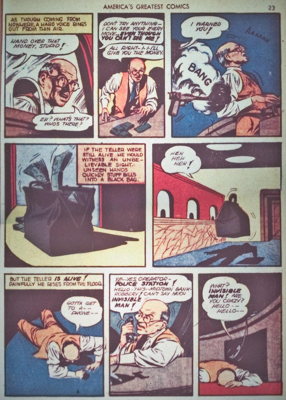 Read online America's Greatest Comics comic -  Issue #1 - 26