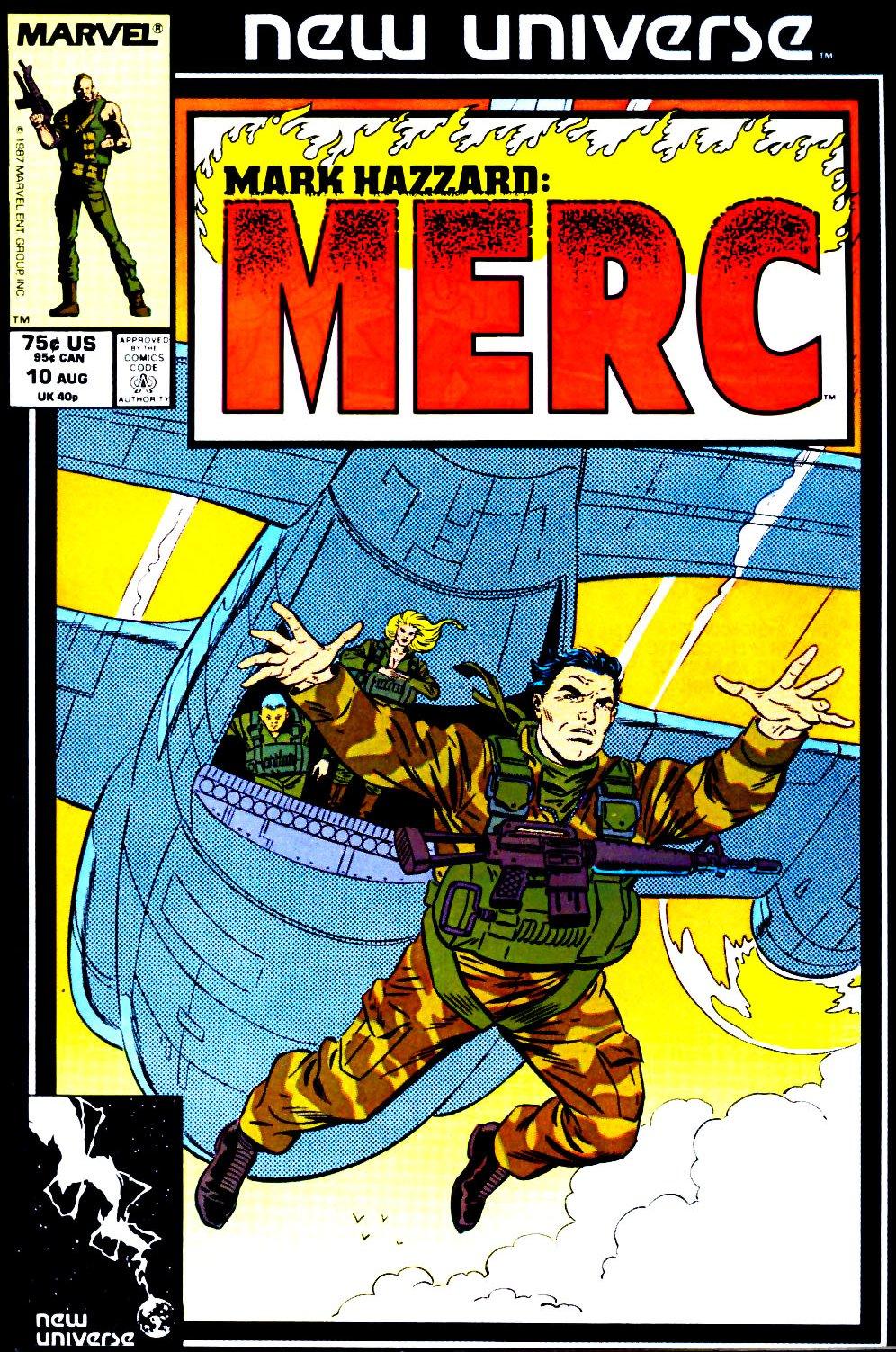 Mark Hazzard: Merc issue 10 - Page 1