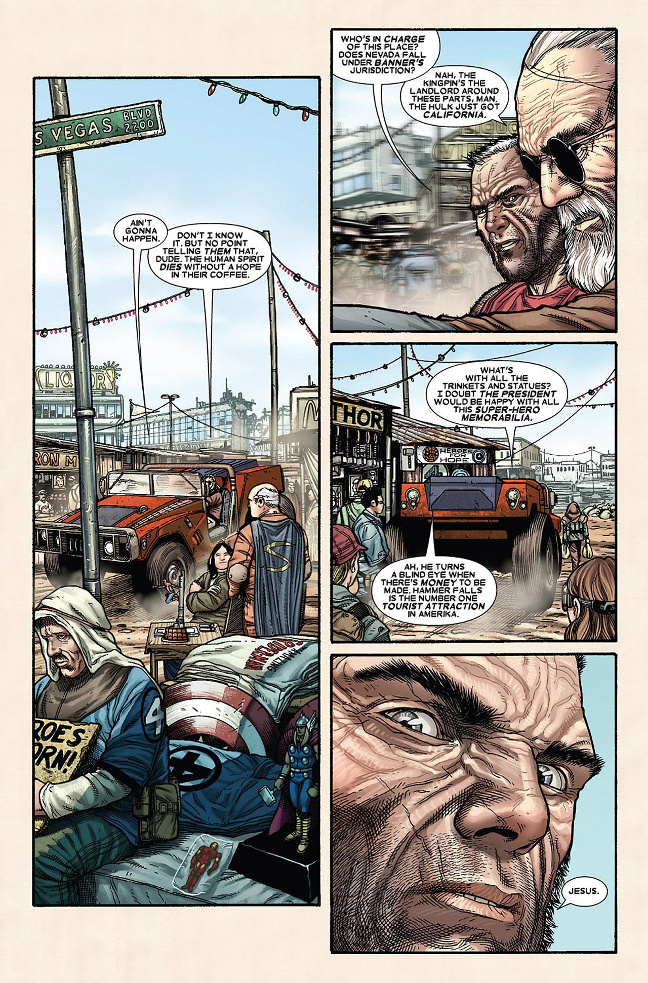 Read online Wolverine: Old Man Logan comic -  Issue # Full - 43