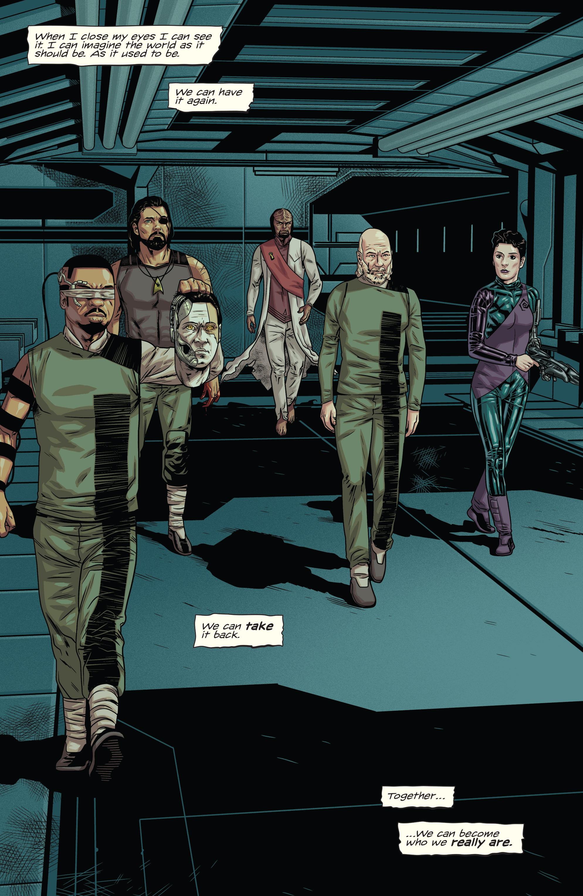 Read online Star Trek: Deviations comic -  Issue # Full - 17