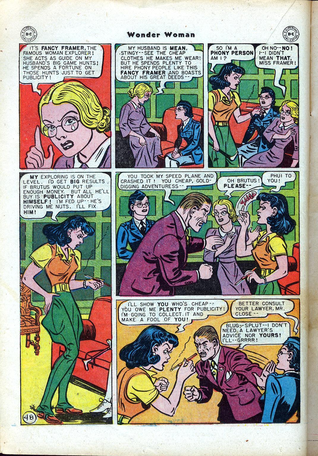Read online Wonder Woman (1942) comic -  Issue #24 - 24
