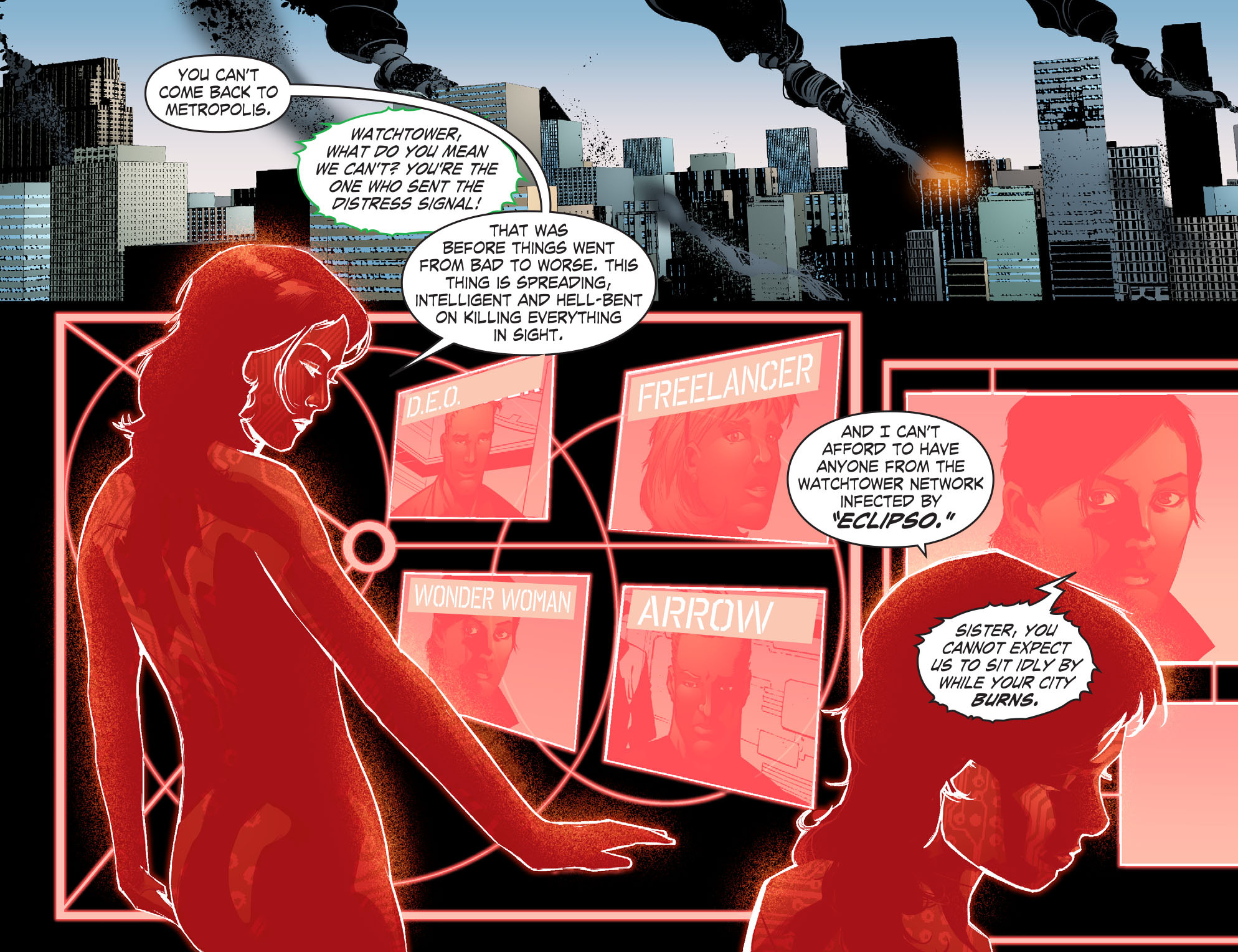 Read online Smallville: Chaos [II] comic -  Issue #7 - 15
