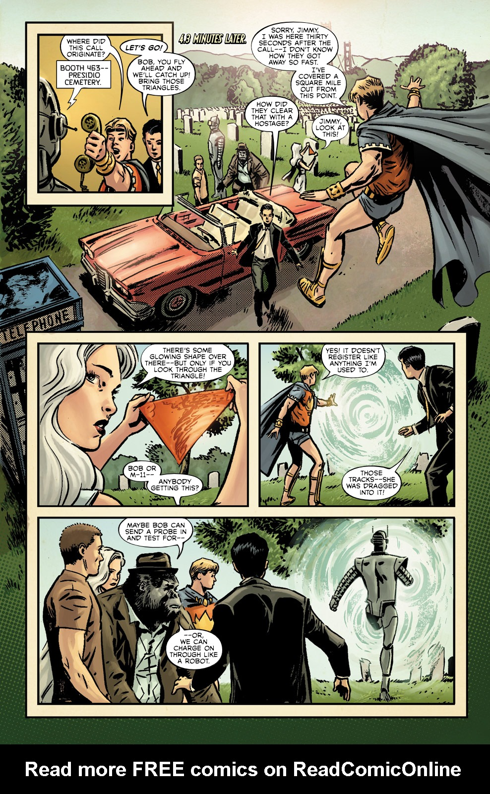 Read online Agents Of Atlas (2009) comic -  Issue #3 - 17