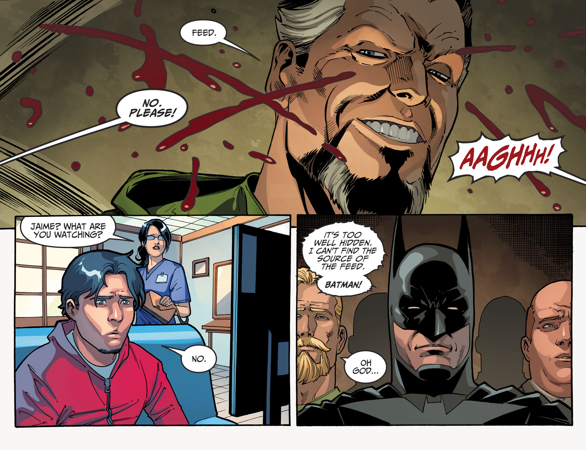 Read online Injustice 2 comic -  Issue #10 - 21