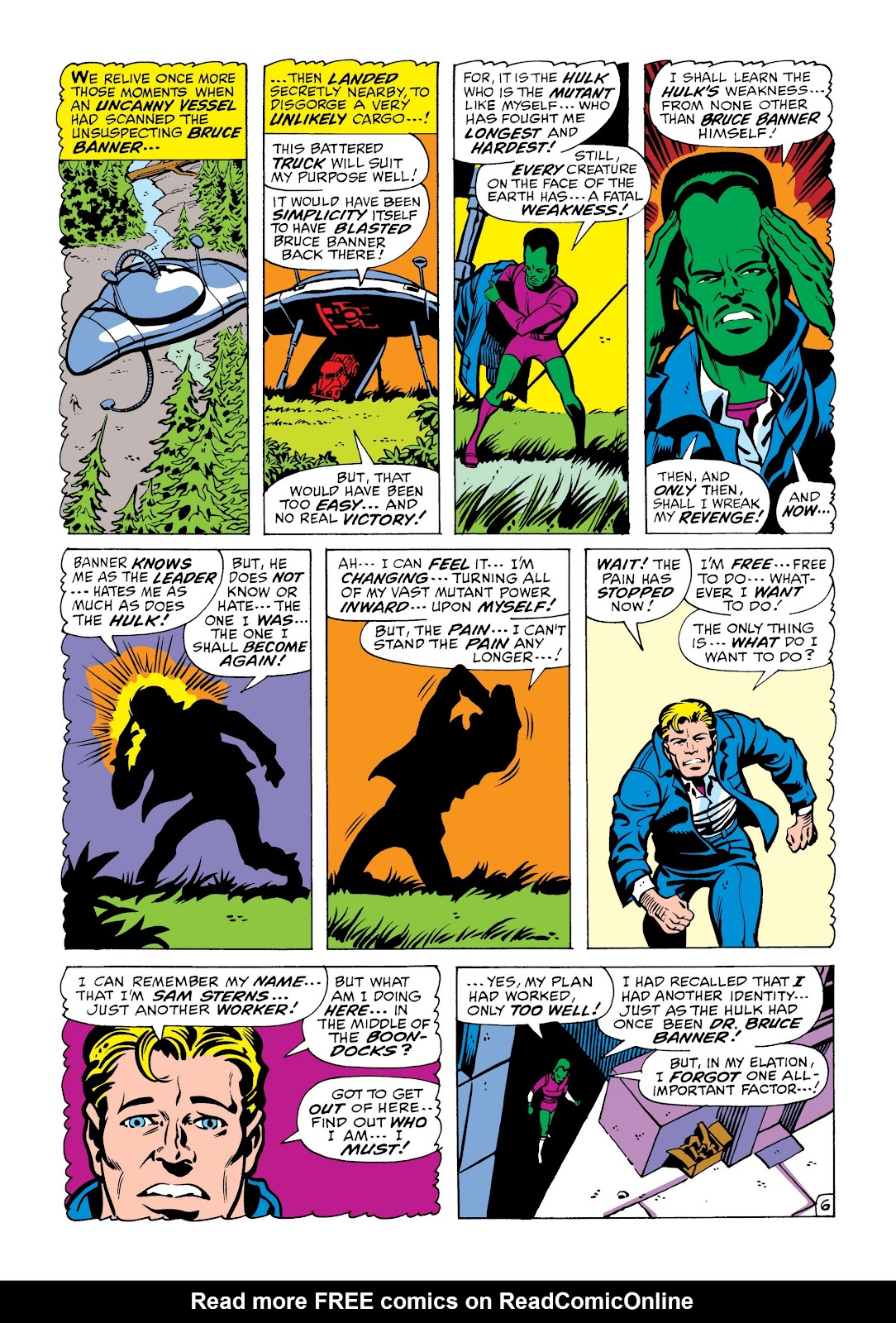 Read online Marvel Masterworks: The Incredible Hulk comic -  Issue # TPB 6 (Part 2) - 60