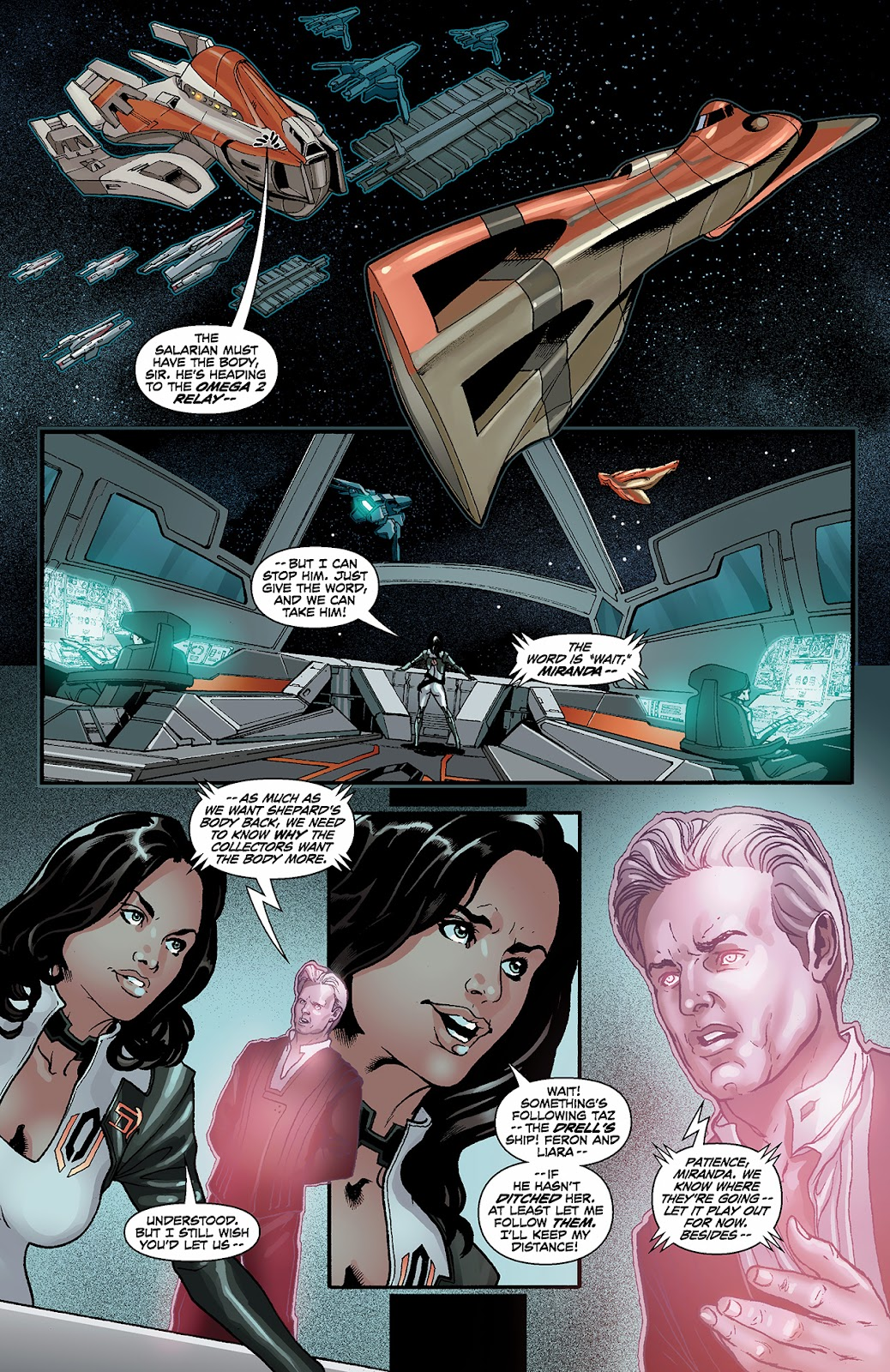 Mass Effect: Redemption Issue #3 #3 - English 5