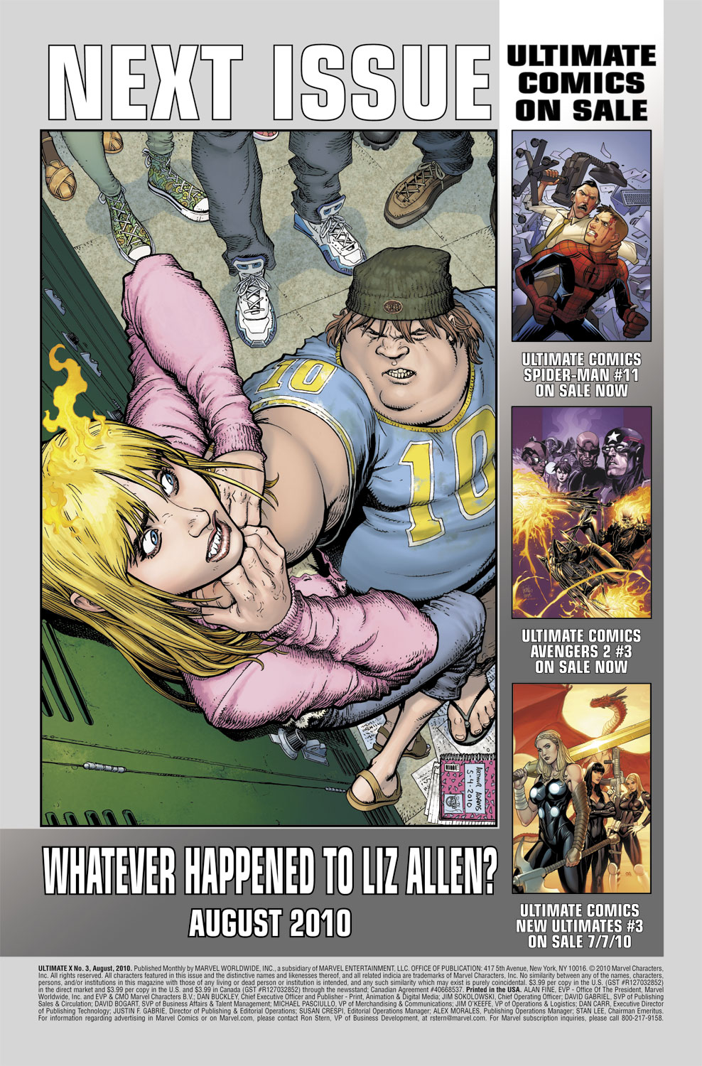 Read online Ultimate X comic -  Issue #3 - 26