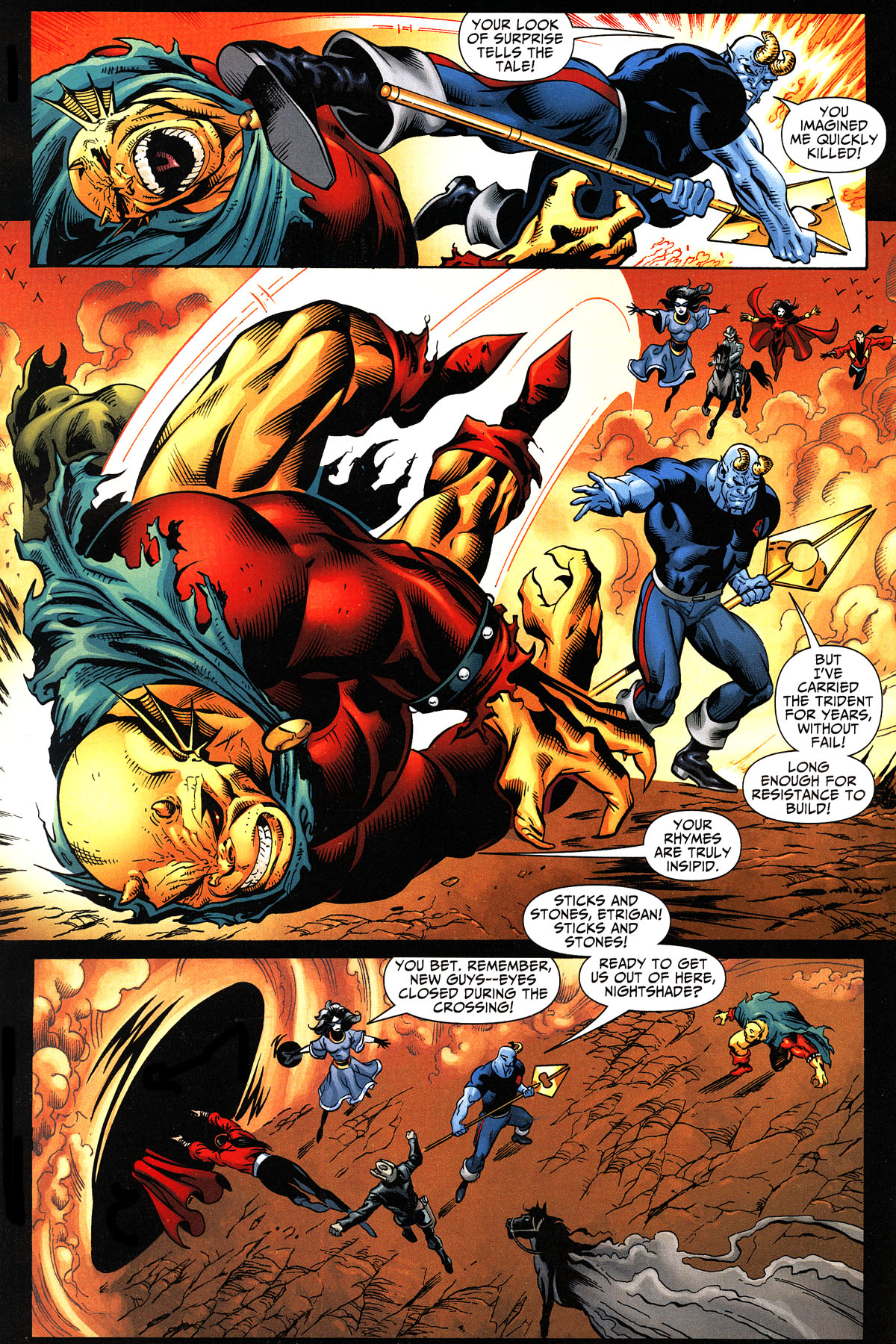 Read online Shadowpact comic -  Issue #11 - 12