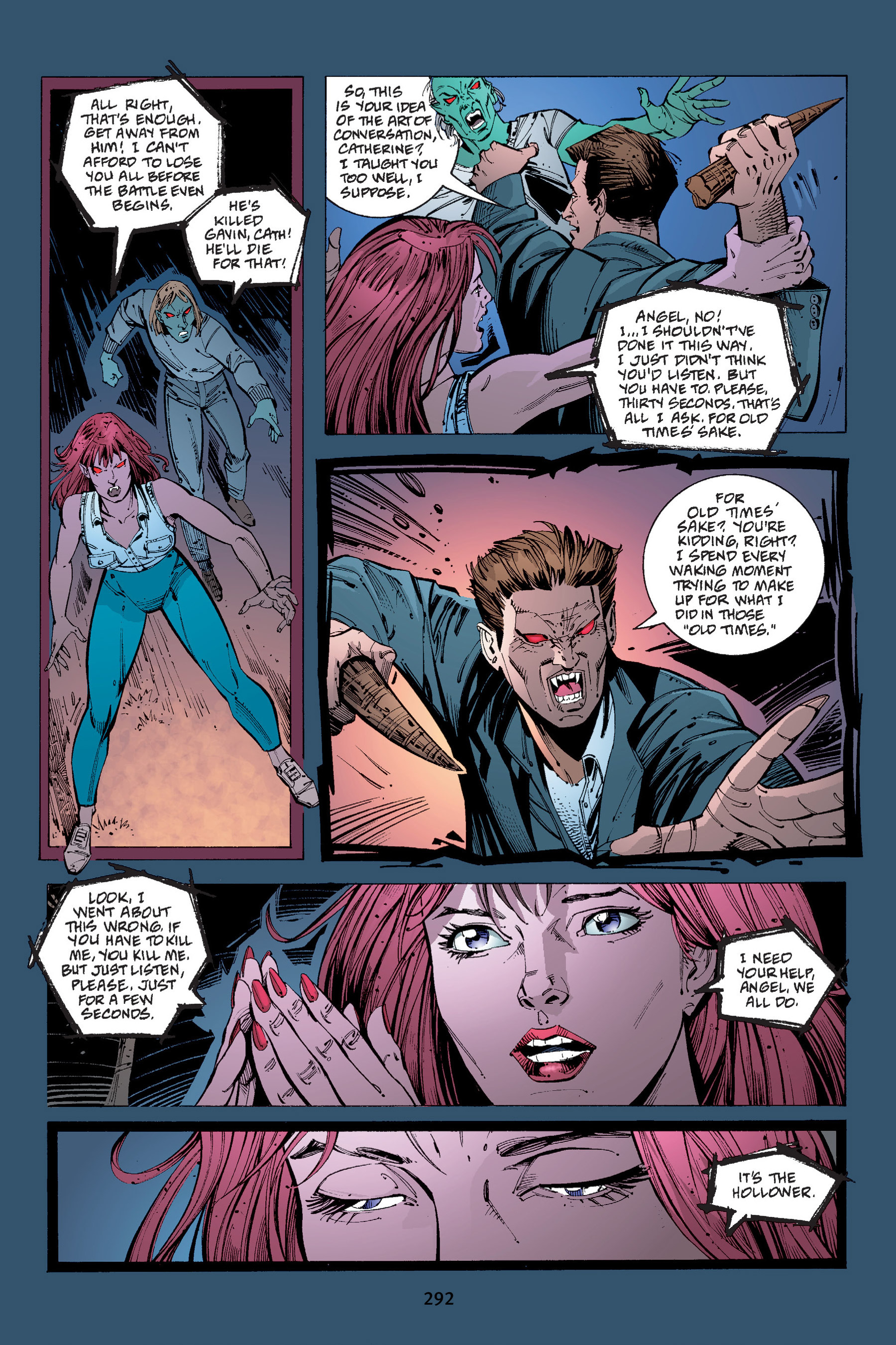 Read online Buffy the Vampire Slayer: Omnibus comic -  Issue # TPB 4 - 289