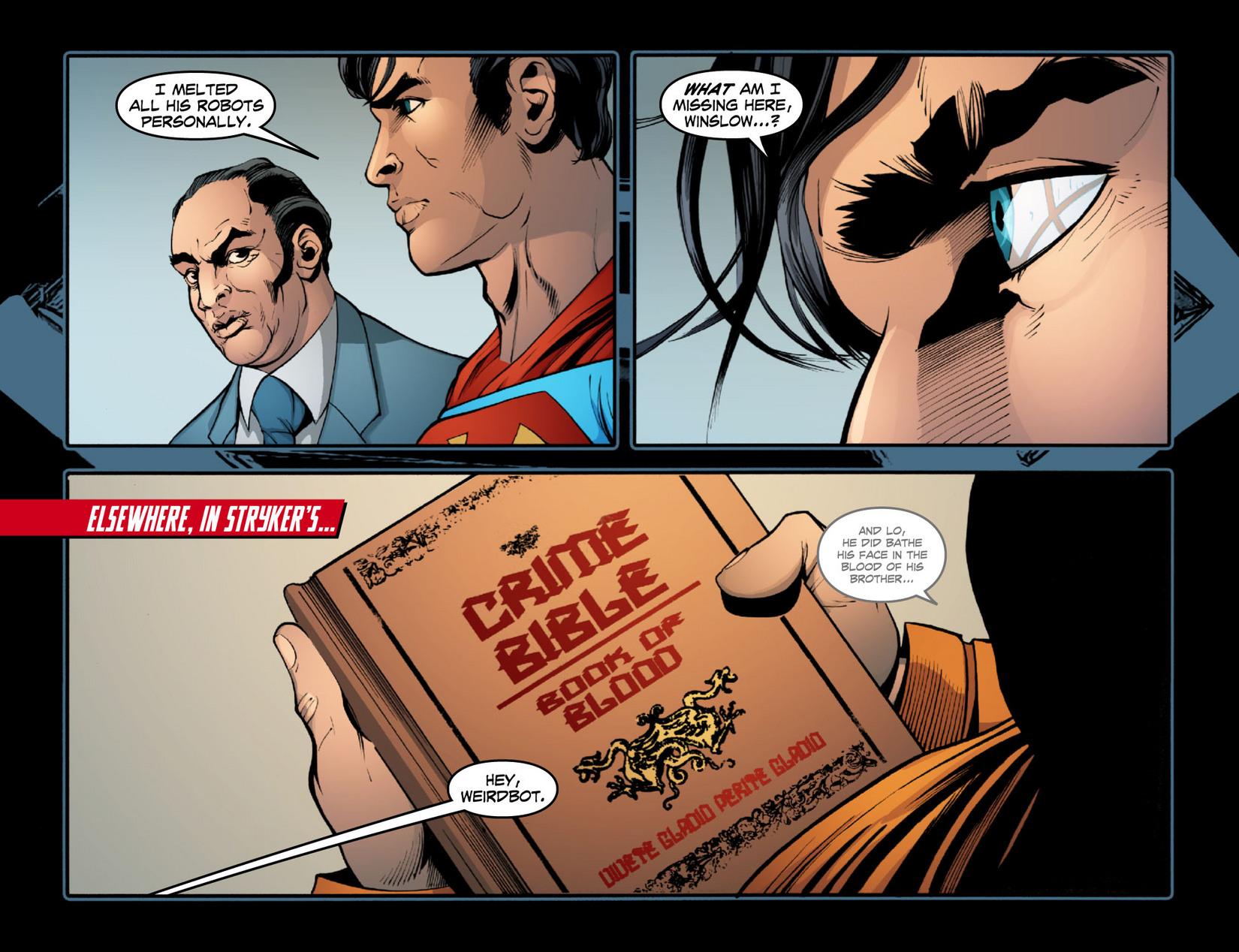 Read online Smallville: Season 11 comic -  Issue #15 - 16