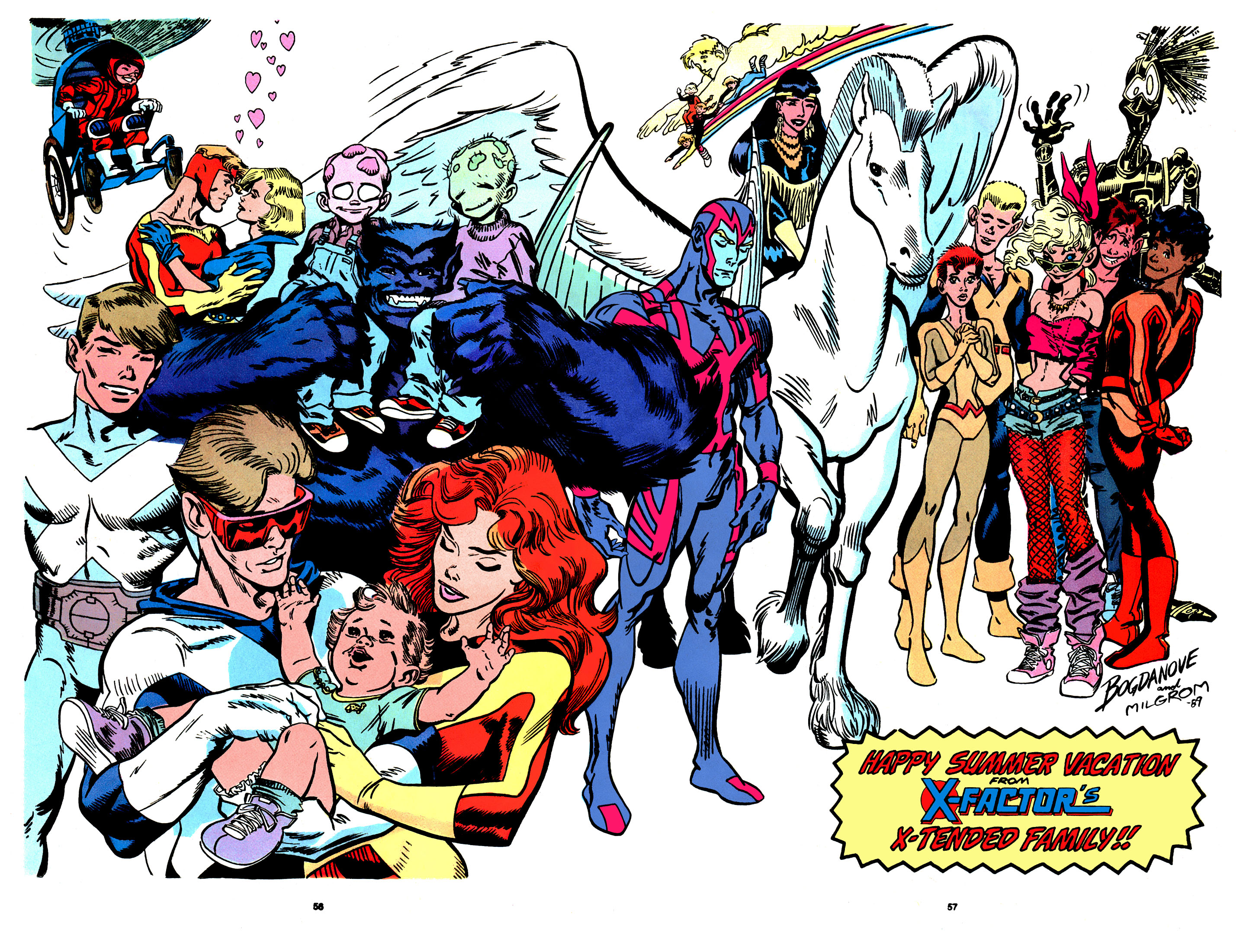 Read online X-Factor (1986) comic -  Issue # _ Annual 4 - 50
