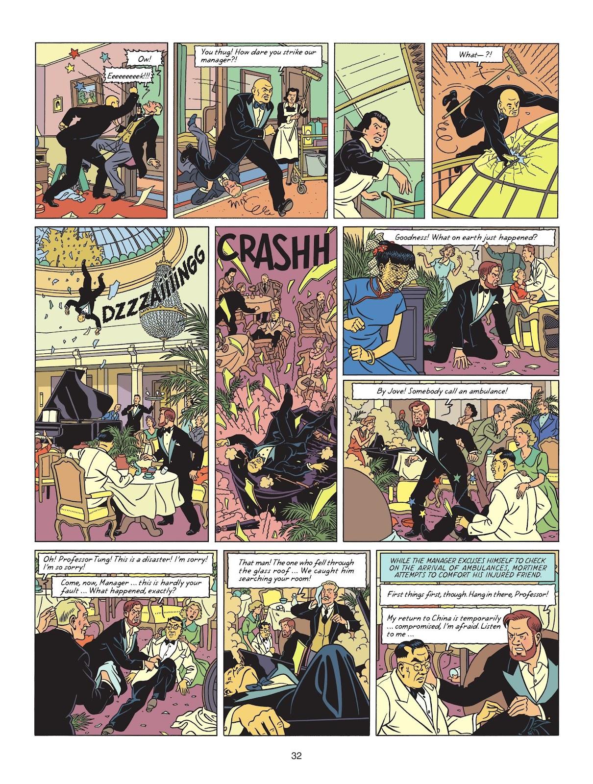 Read online Blake & Mortimer comic -  Issue #25 - 34