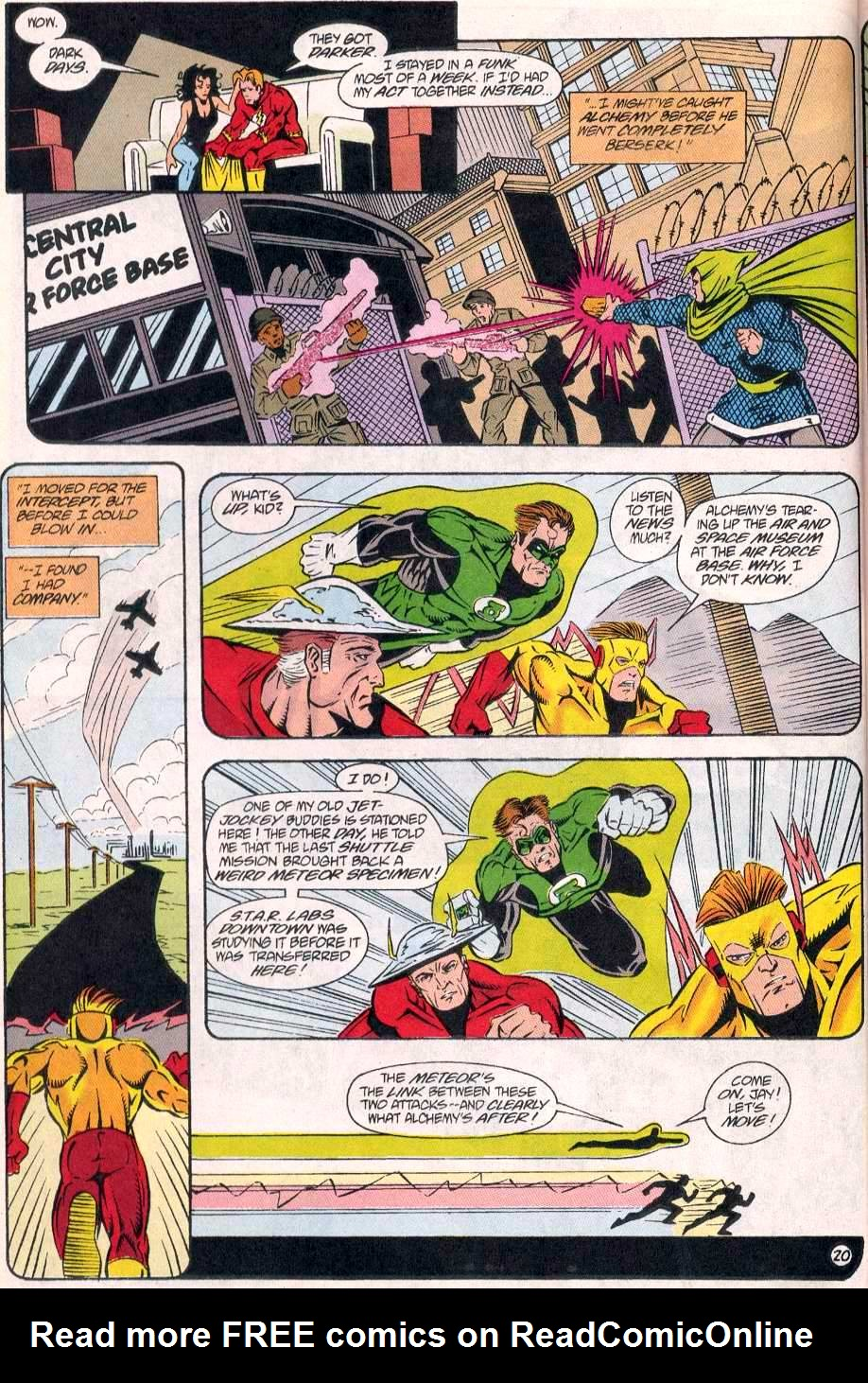 Read online The Flash (1987) comic -  Issue # _Annual 8 - 21