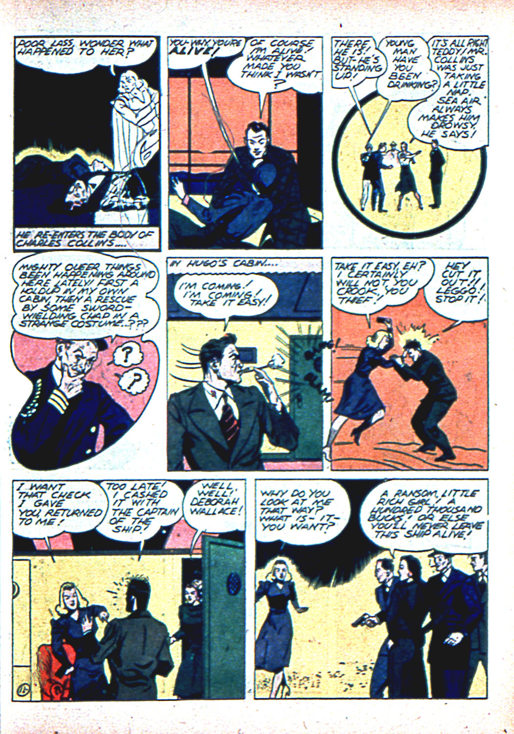 Read online Sensation (Mystery) Comics comic -  Issue #2 - 43