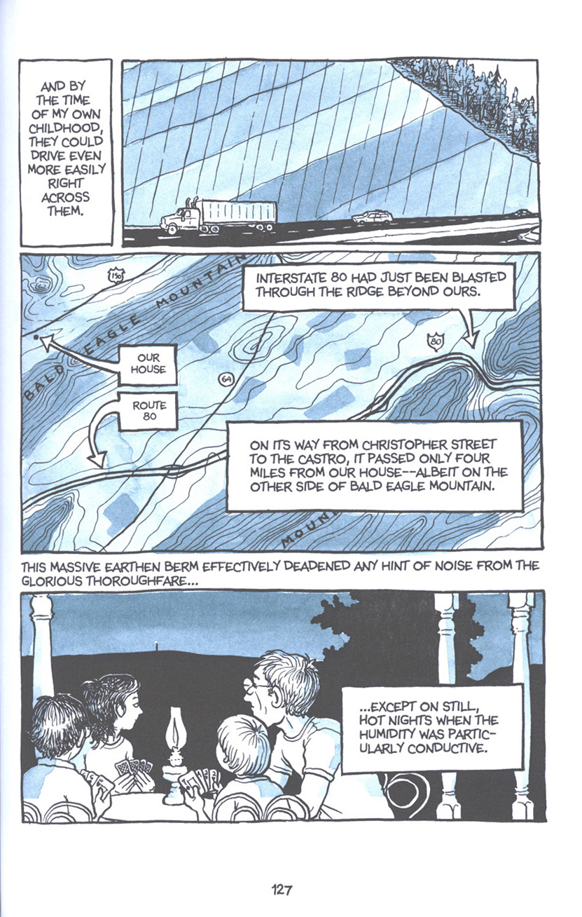 Read online Fun Home: A Family Tragicomic comic -  Issue # TPB - 133