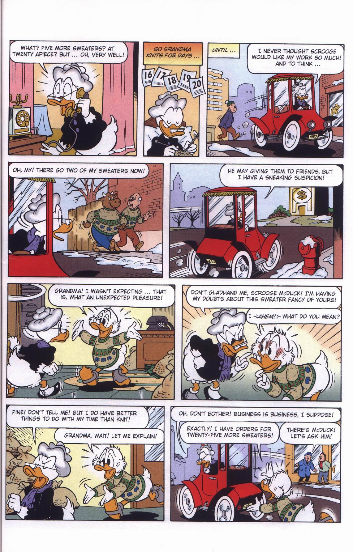 Read online Uncle Scrooge (1953) comic -  Issue #311 - 53