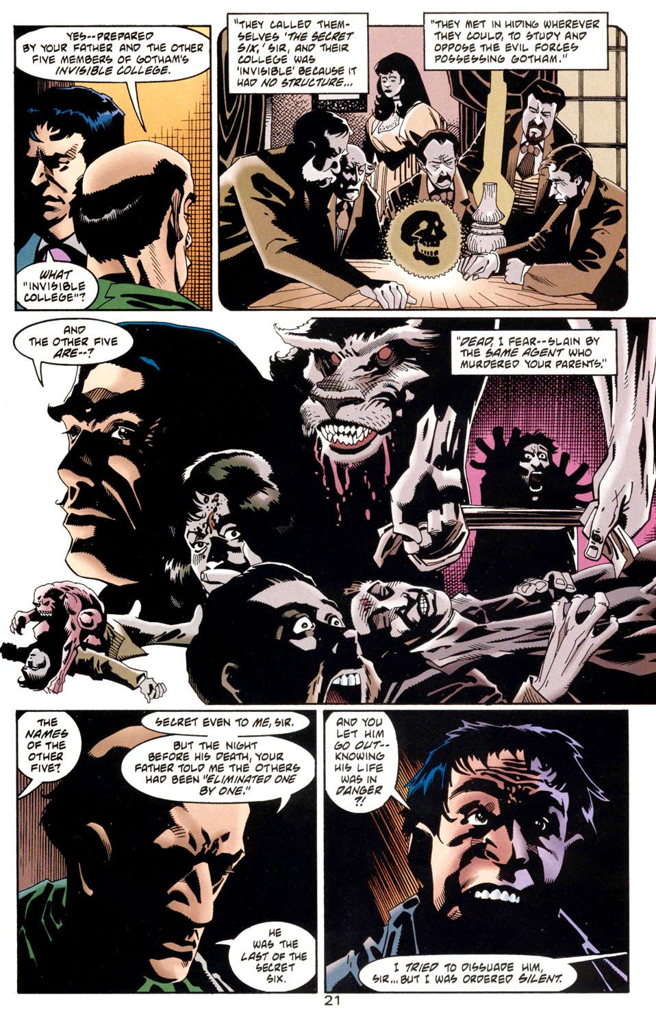 Read online Batman: Haunted Gotham comic -  Issue #1 - 23
