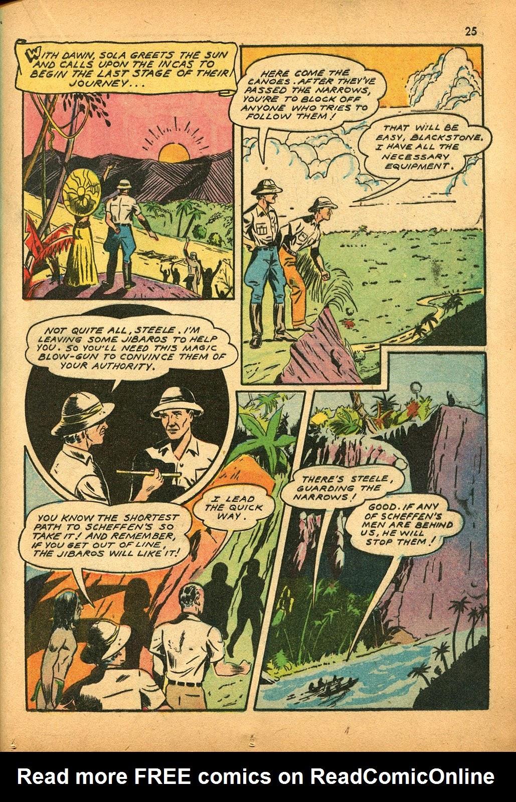 Read online Super-Magician Comics comic -  Issue #9 - 25
