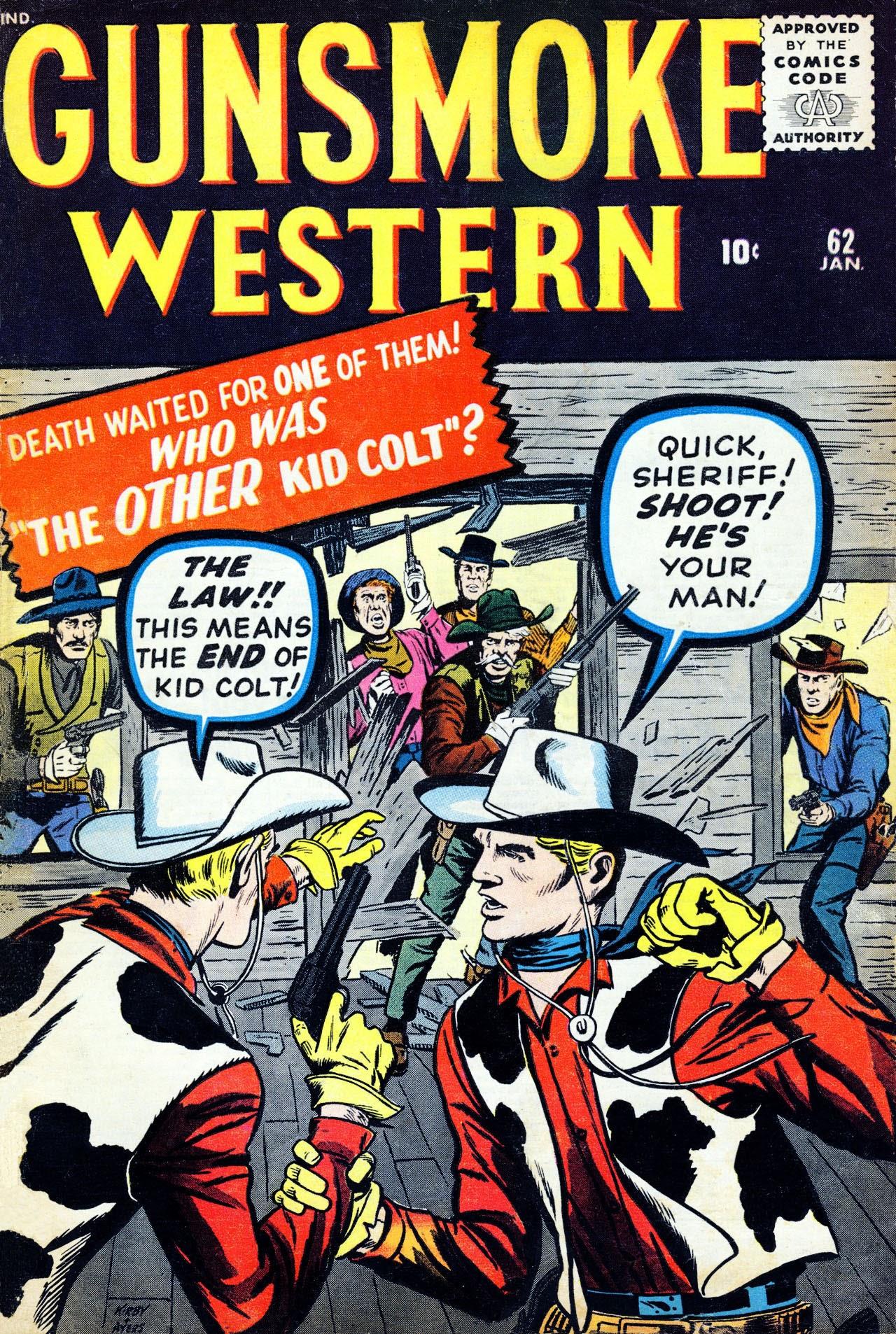 Gunsmoke Western 62 Page 1