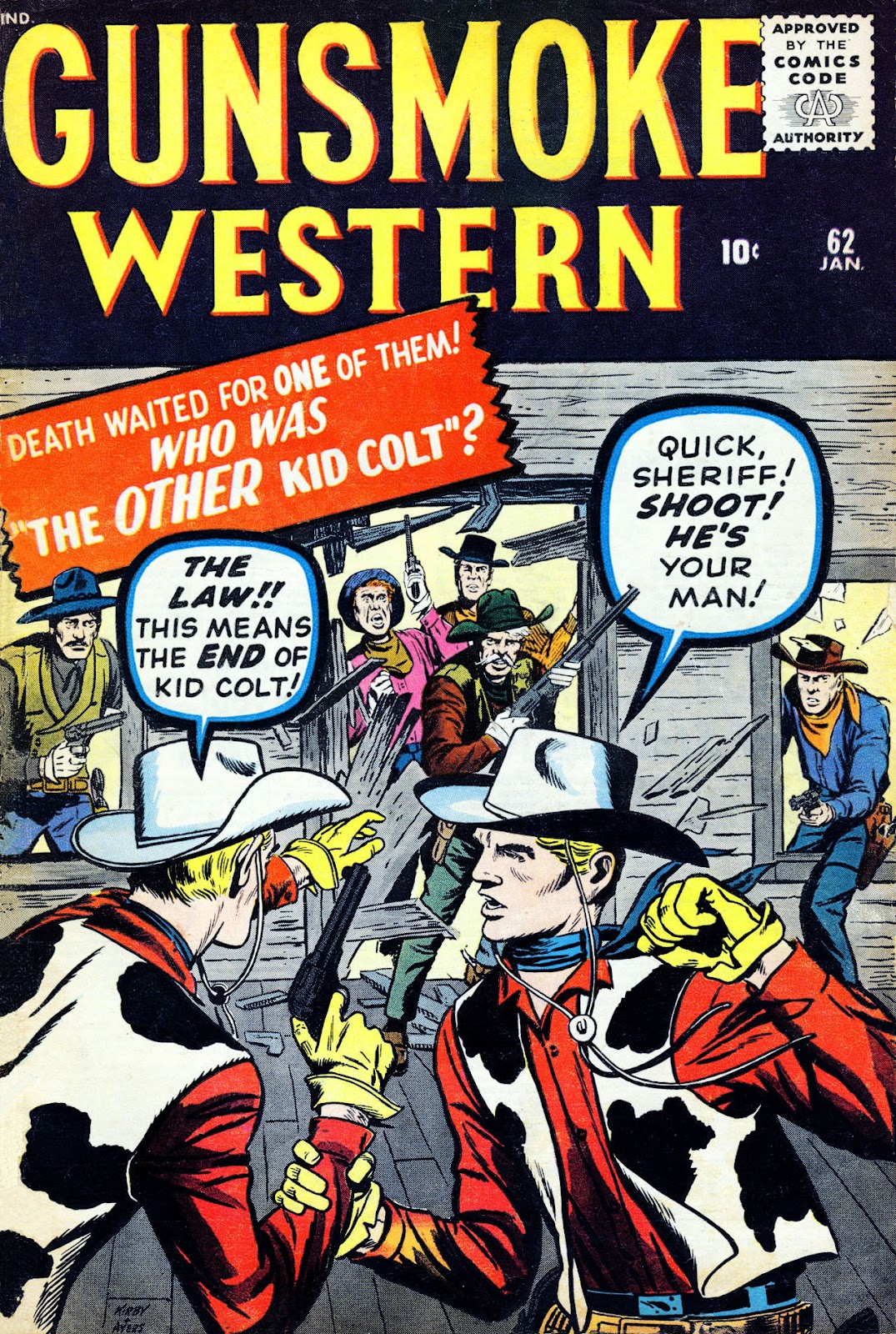 Gunsmoke Western issue 62 - Page 1