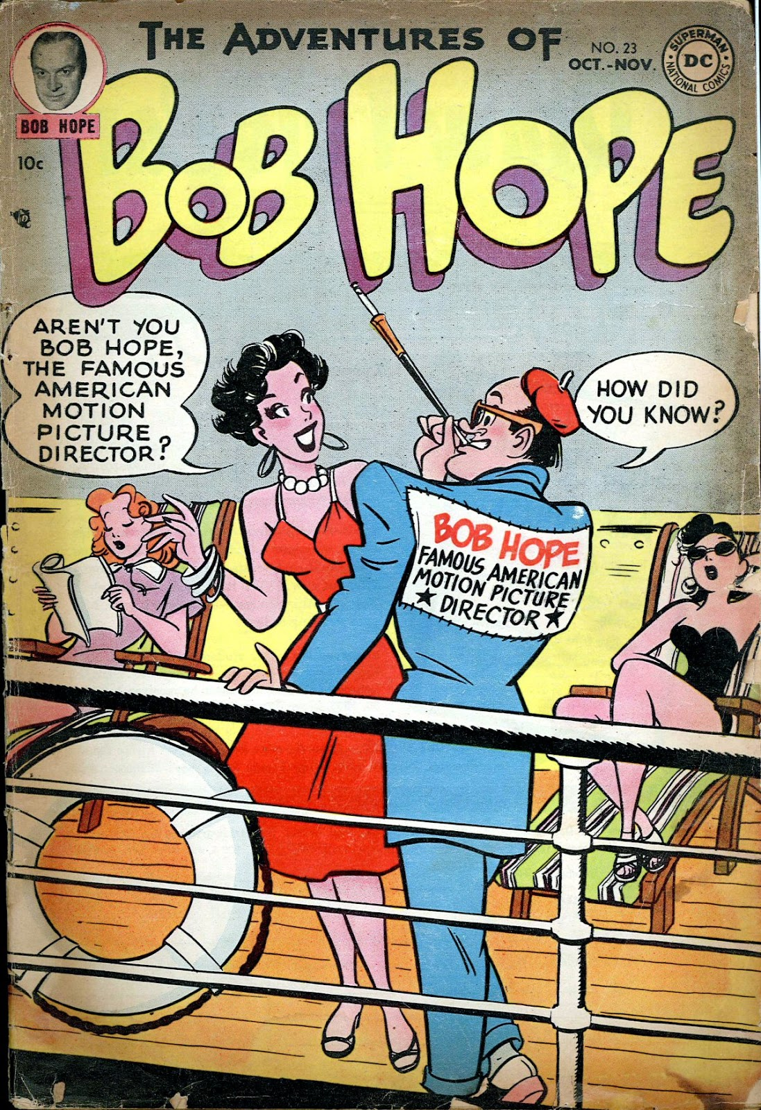 The Adventures of Bob Hope issue 23 - Page 1