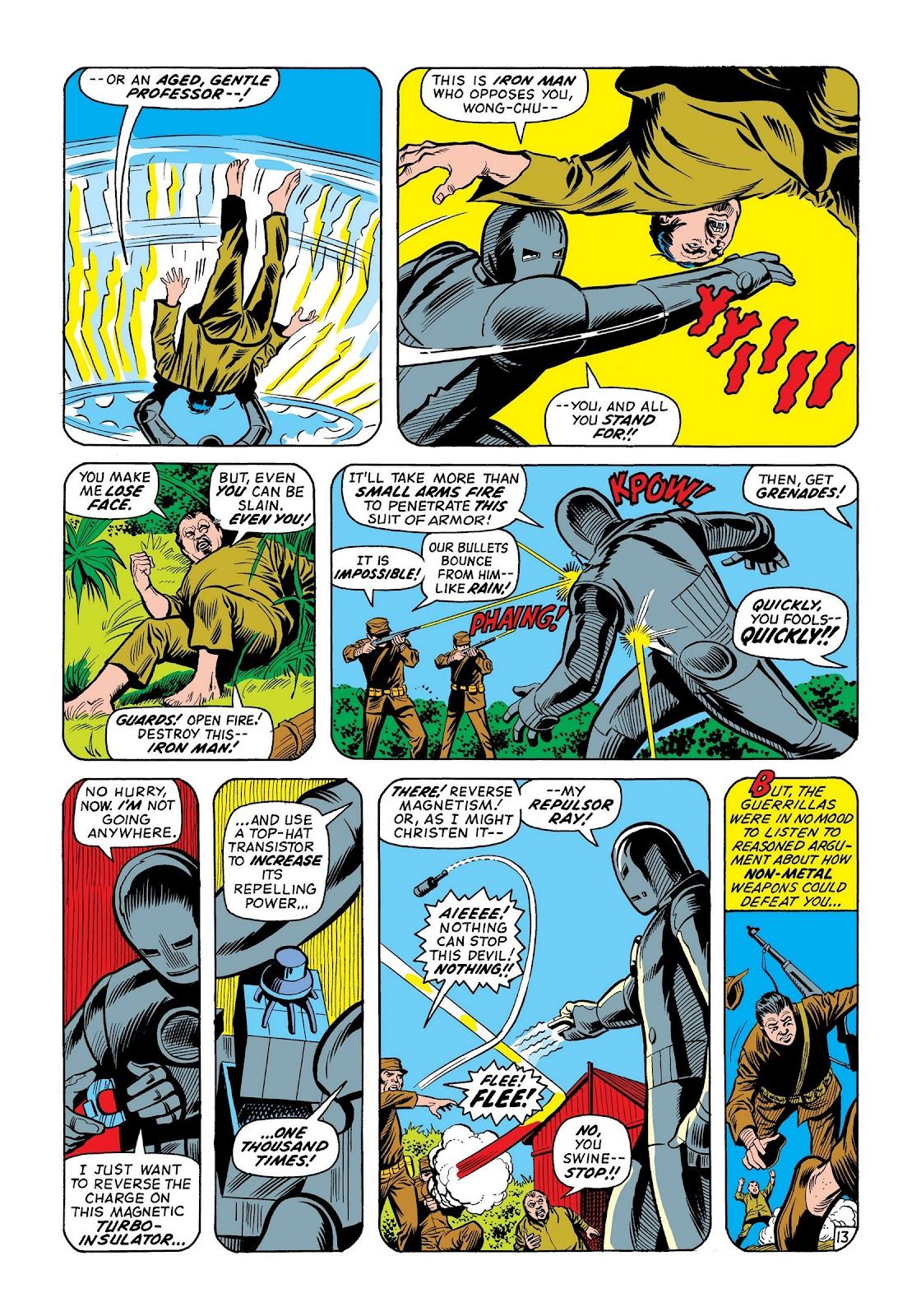 Read online Marvel Masterworks: The Invincible Iron Man comic -  Issue # TPB 8 (Part 2) - 79