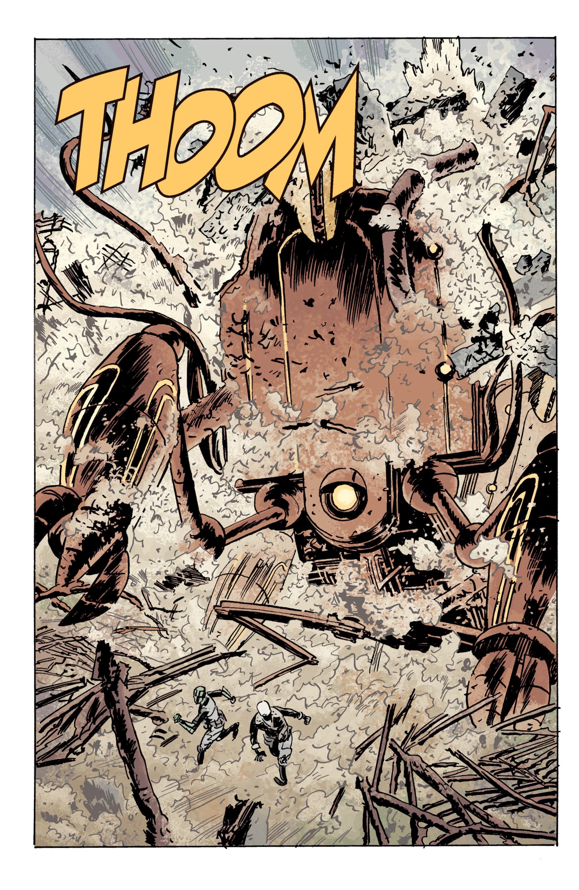 Read online B.P.R.D. (2003) comic -  Issue # TPB 10 - 85