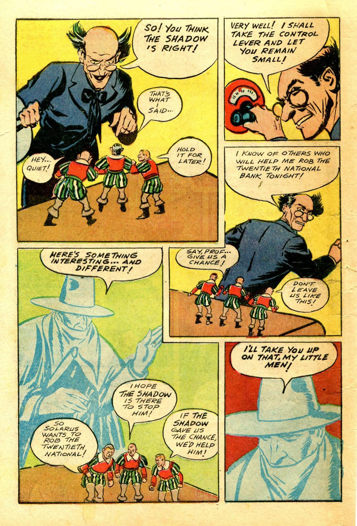 Read online Shadow Comics comic -  Issue #43 - 54
