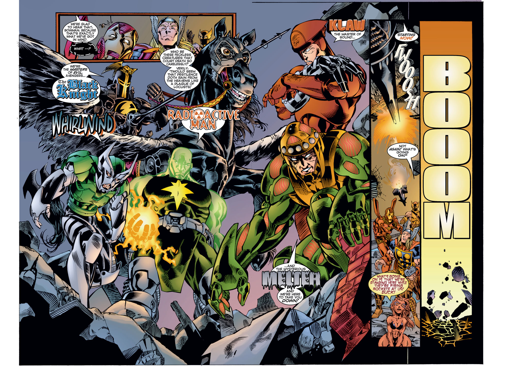 Read online Avengers (1996) comic -  Issue #8 - 19