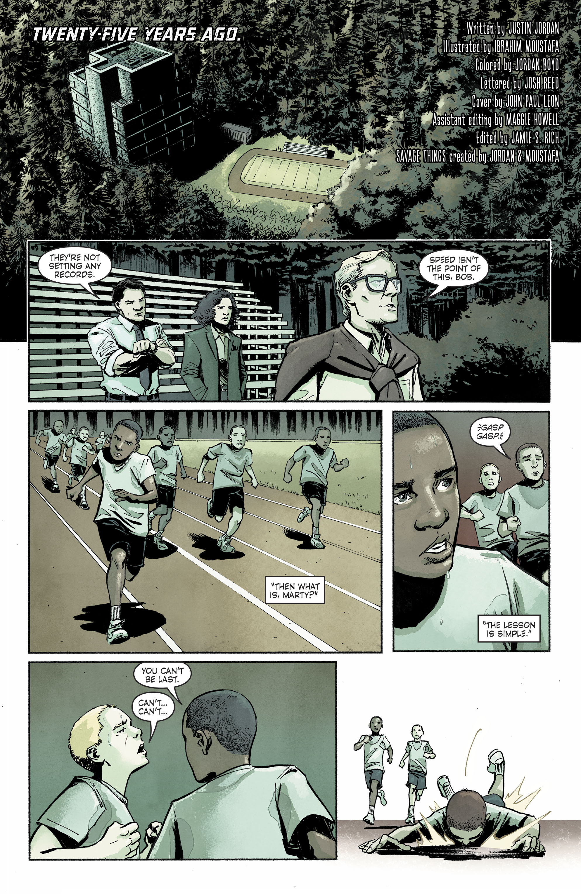 Read online Savage Things comic -  Issue #3 - 2