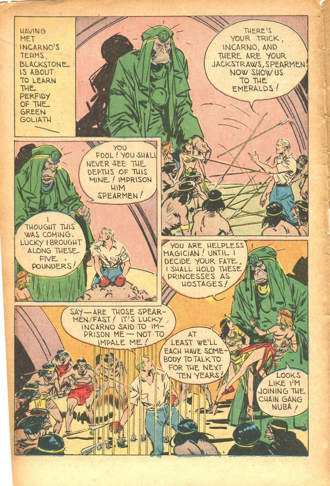 Read online Super-Magician Comics comic -  Issue #35 - 14